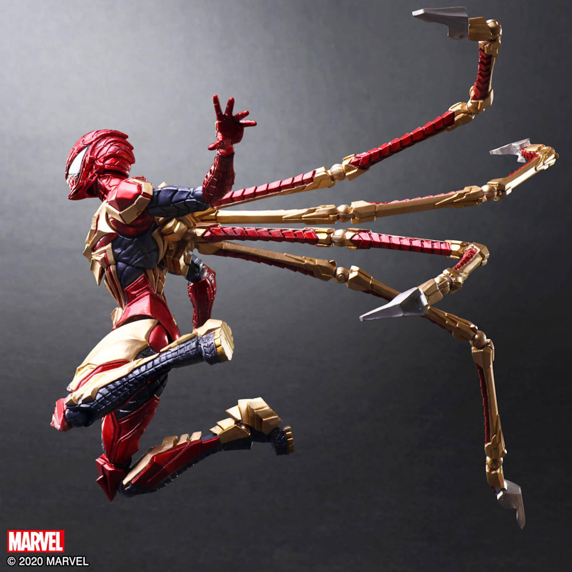 野村哲也デザインの『アイアンマン』『キャプテン・アメリカ』『スパイダーマン』フィギュアがスクウェア・エニックスのオンラインサイトで予約受付中! ac200702_marvel_nomuratesuya_22