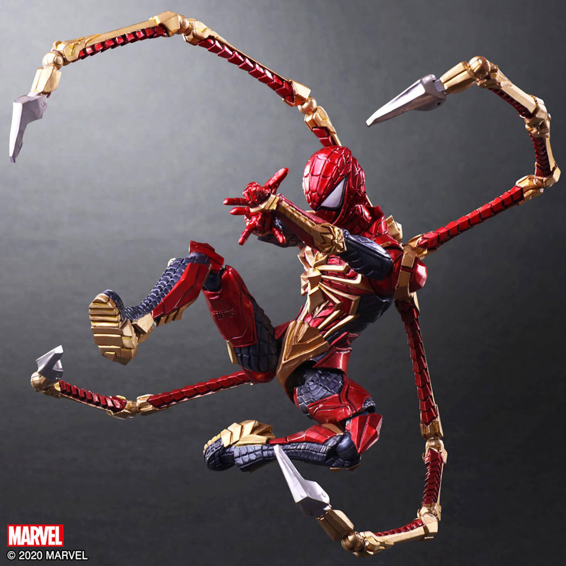 野村哲也デザインの『アイアンマン』『キャプテン・アメリカ』『スパイダーマン』フィギュアがスクウェア・エニックスのオンラインサイトで予約受付中! ac200702_marvel_nomuratesuya_23