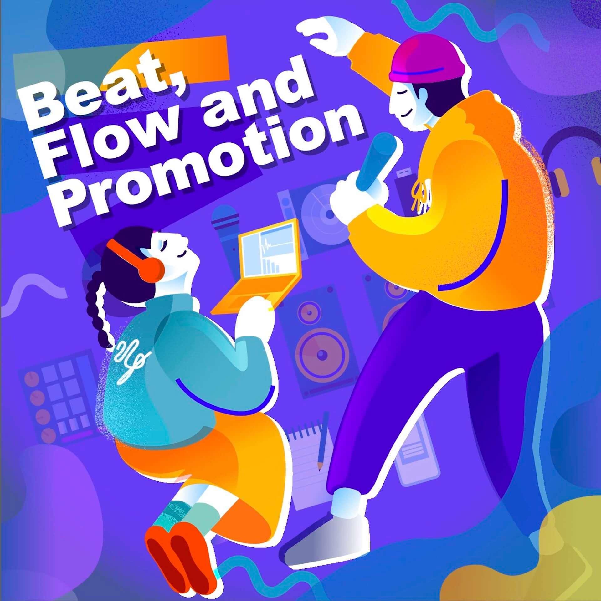 ヒップホップの楽曲制作、配信、プロモーションを学べる「Beat, Flow and Promotion」が2次募集を開始!BABEL LABELの月神ユエも参加 music200804_beat-flow-and-promotion_2-1920x1920