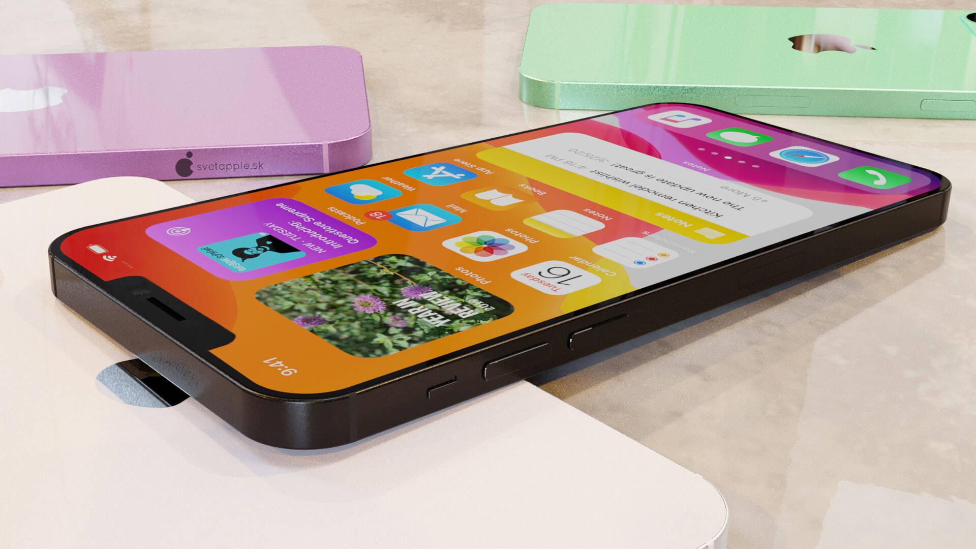 iPhone 12の5.4インチモデルのノッチ幅は14%ほど狭くなる?新レンダリング画像が公開 tech200805_iphone12_pic_2