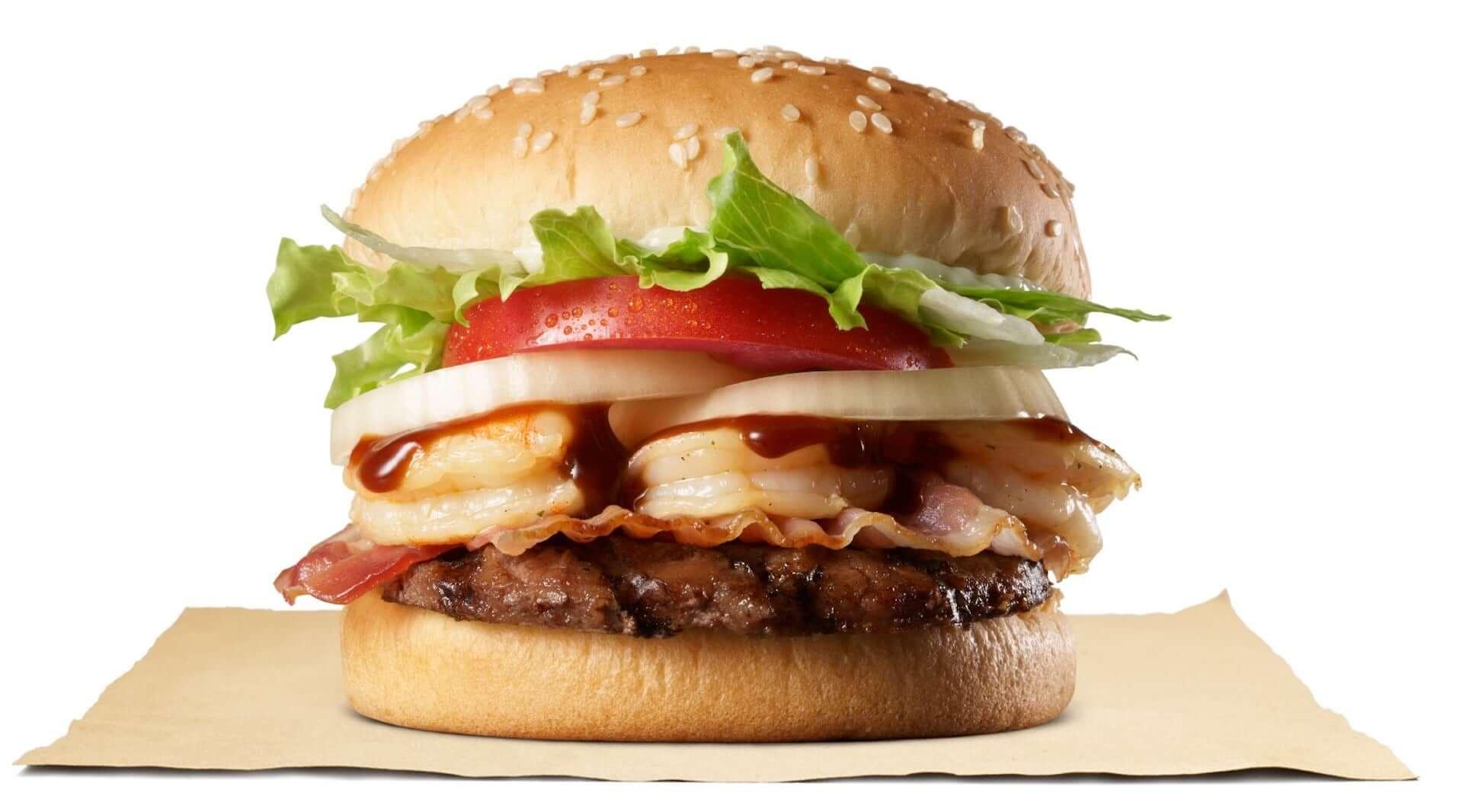 バーガーキングから魚介×牛肉を堪能できる新商品『バーベキュー6シュリンプワッパー(R)』が期間限定で登場!公式アプリではクーポンも配信 gourmet200806_burgerking_1-1920x1066