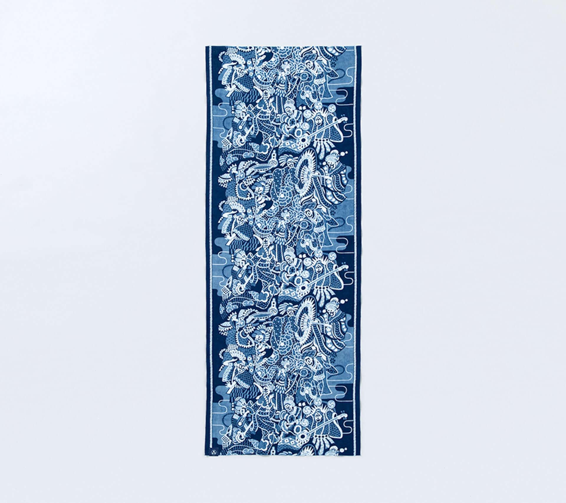 現代装飾家・京森康平と藍師/染師・BUAISOUが手掛けたマスク&手拭いも販売!『日に流れて橋に行く』×誠品生活日本橋のコラボ企画が始動 lf200806_buaisou-koheikyomori_22-1920x1707