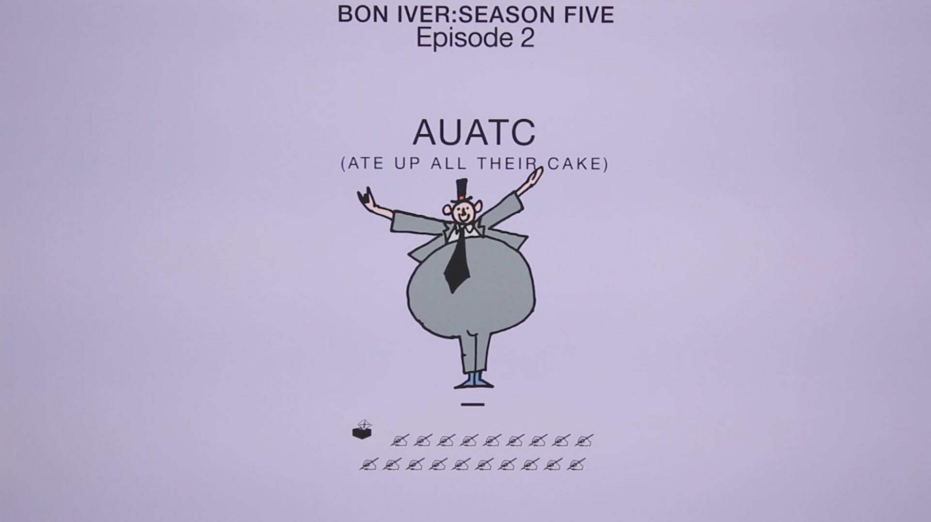 """テイラー・スウィフトとの共演も話題のBon IverがBruce Springsteenらをフィーチャーした新曲""""AUATC""""を突如リリース! music200806_boniver_1"""