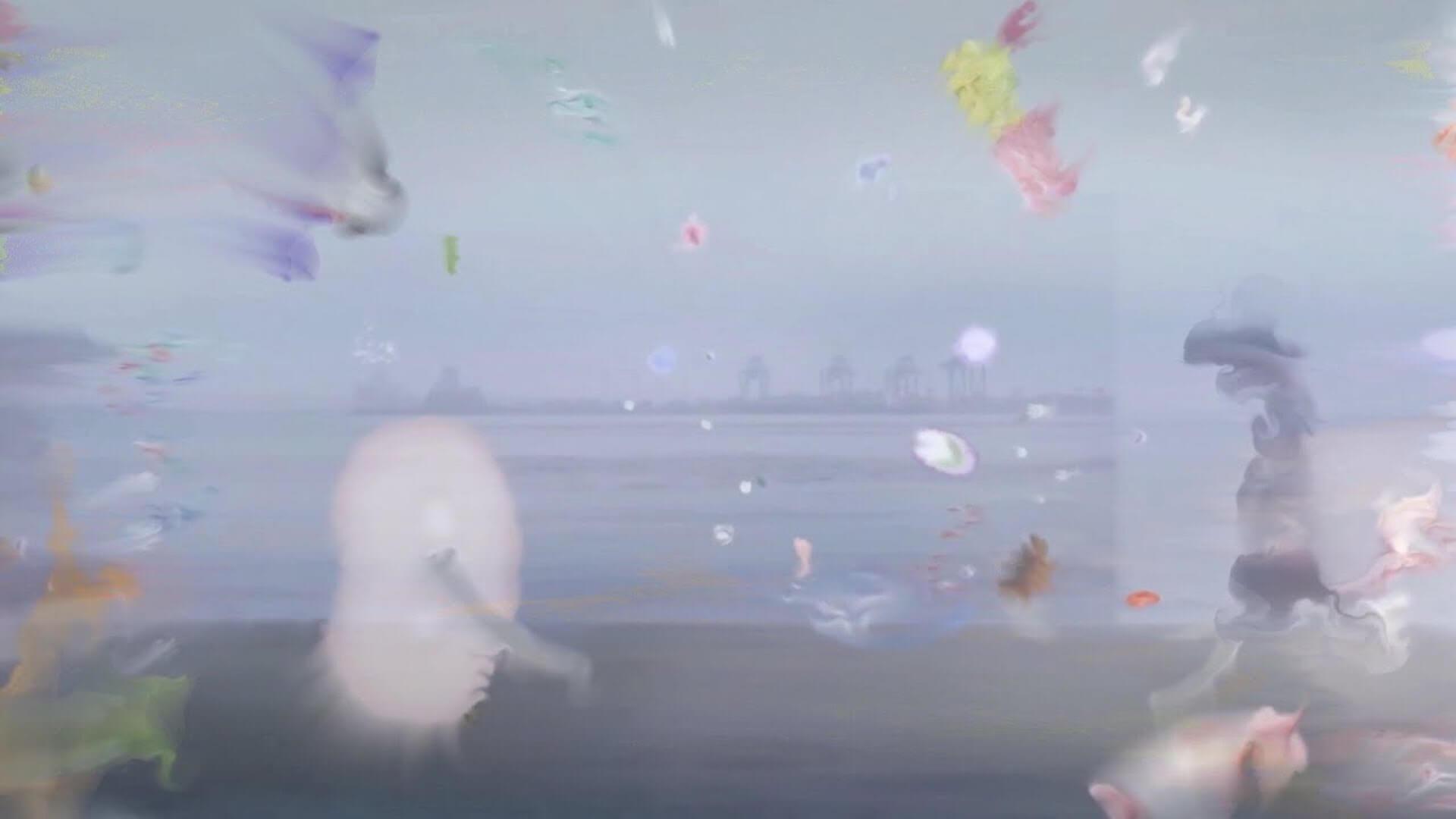 """長谷川白紙本人が登場する""""シー・チェンジ""""のMVが公開!弾き語りカバーアルバム『夢の骨が襲いかかる!』収録オリジナル曲 music200806_hasegawahakushi_mv_04"""