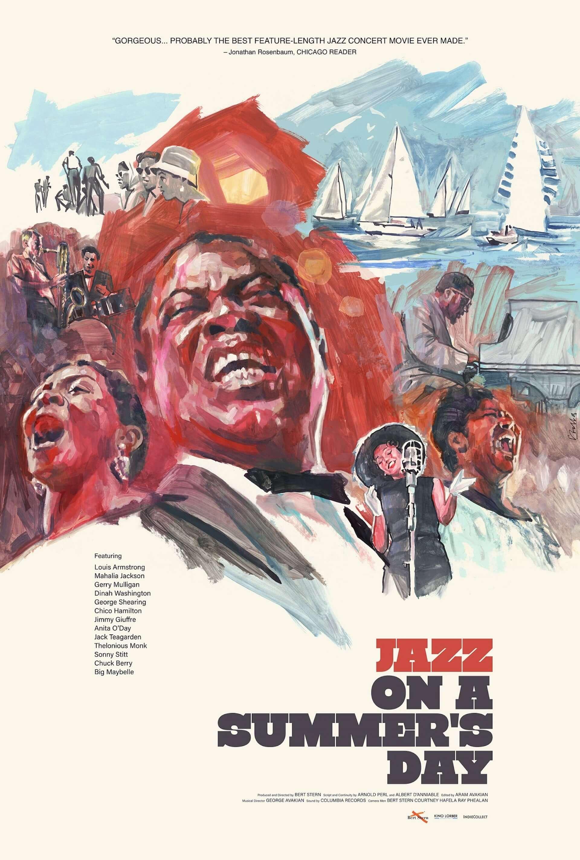 米最大級のフェスを追ったドキュメンタリー『真夏の夜のジャズ 4K』のビジュアルが4枚同時公開!1959年公開当時のフランス版&プレスブックの表紙も film200808_jazz4k_2-1920x2844