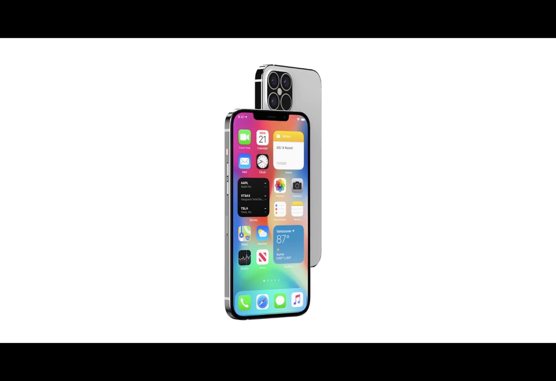 iPhone 12のノッチ部分はやはりあまり変わらず?ディスプレイユニットもリークか tech200807_iphone12_main