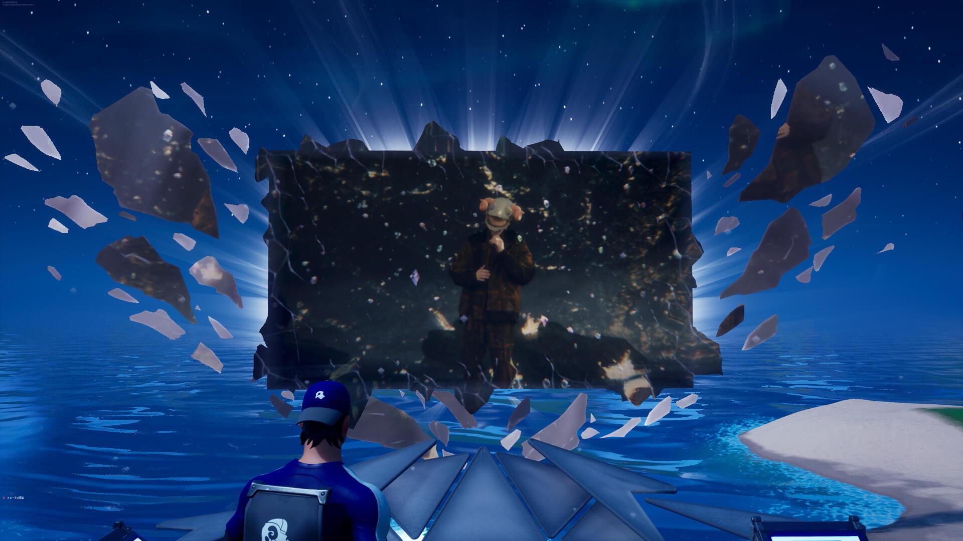 """米津玄師、『フォートナイト』パーティーロイヤルで""""新しく美しい一瞬""""を世界中のファンと共有! tech200807_yonezukenshi_fortnite_7"""