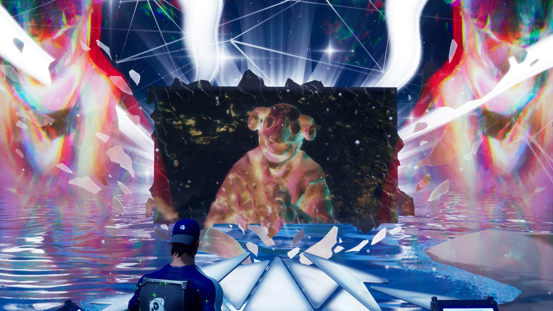 """米津玄師、『フォートナイト』パーティーロイヤルで""""新しく美しい一瞬""""を世界中のファンと共有! tech200807_yonezukenshi_fortnite_10"""