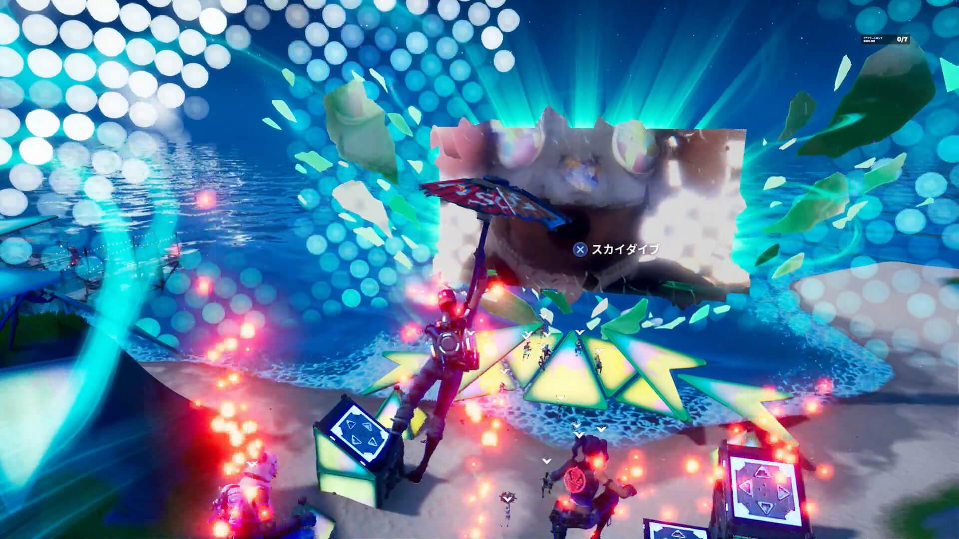 """米津玄師、『フォートナイト』パーティーロイヤルで""""新しく美しい一瞬""""を世界中のファンと共有! tech200807_yonezukenshi_fortnite_17"""