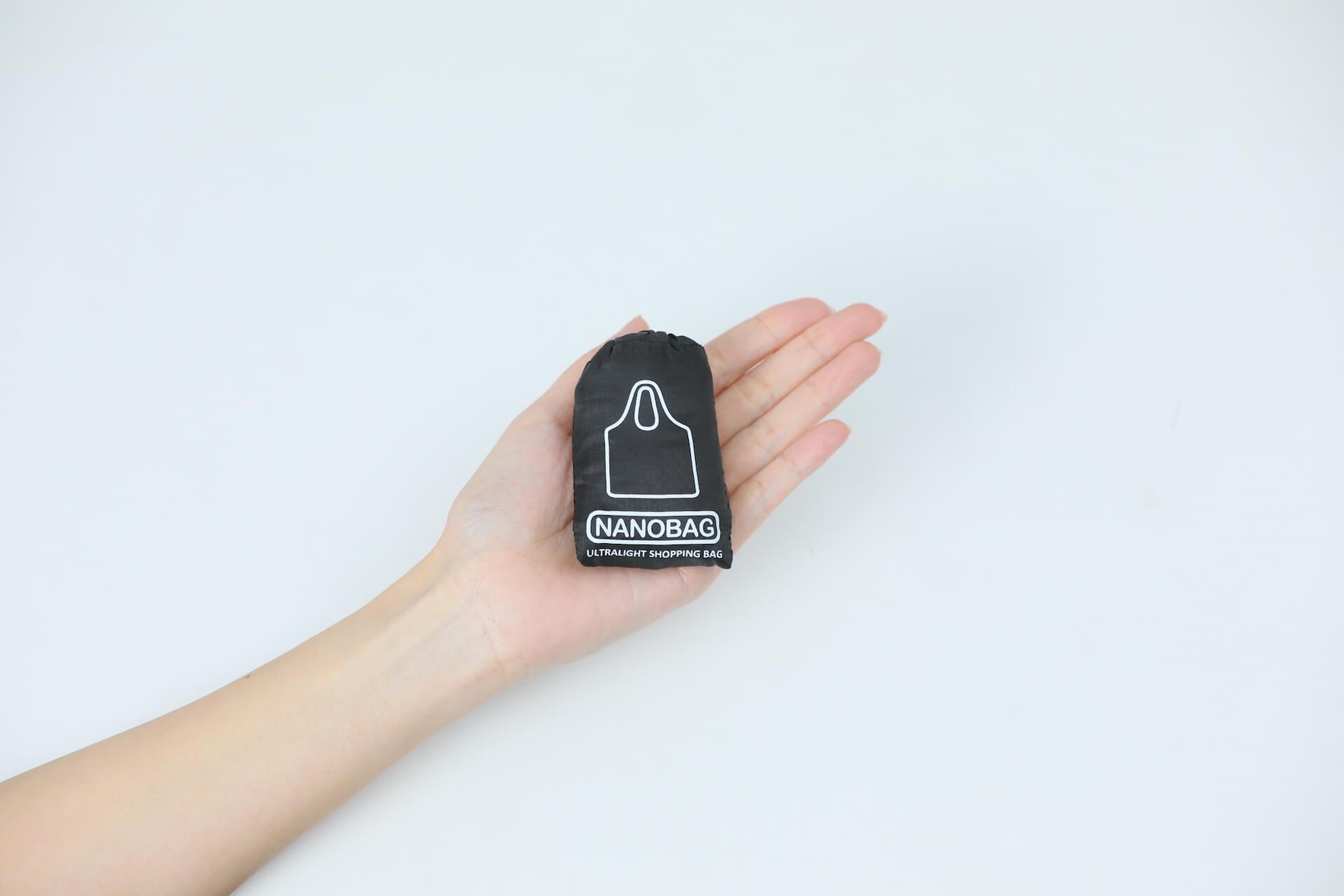 手のひらサイズのエコバッグ『NANOBAG』でお買い物しよう!全国販売を記念したTwitterプレゼントキャンペーンが実施 ac200714_nanobag_05