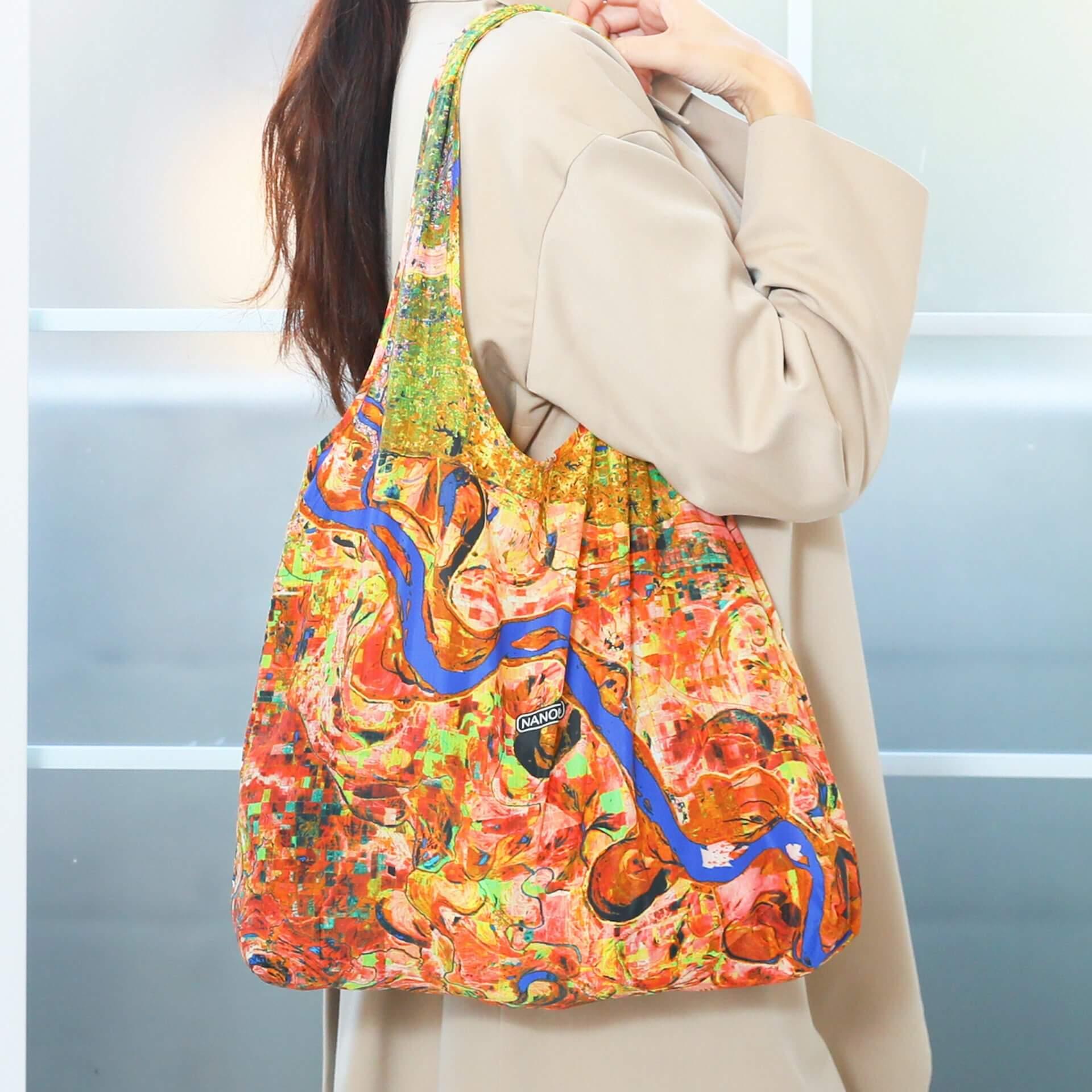 手のひらサイズのエコバッグ『NANOBAG』でお買い物しよう!全国販売を記念したTwitterプレゼントキャンペーンが実施 ac200714_nanobag_07