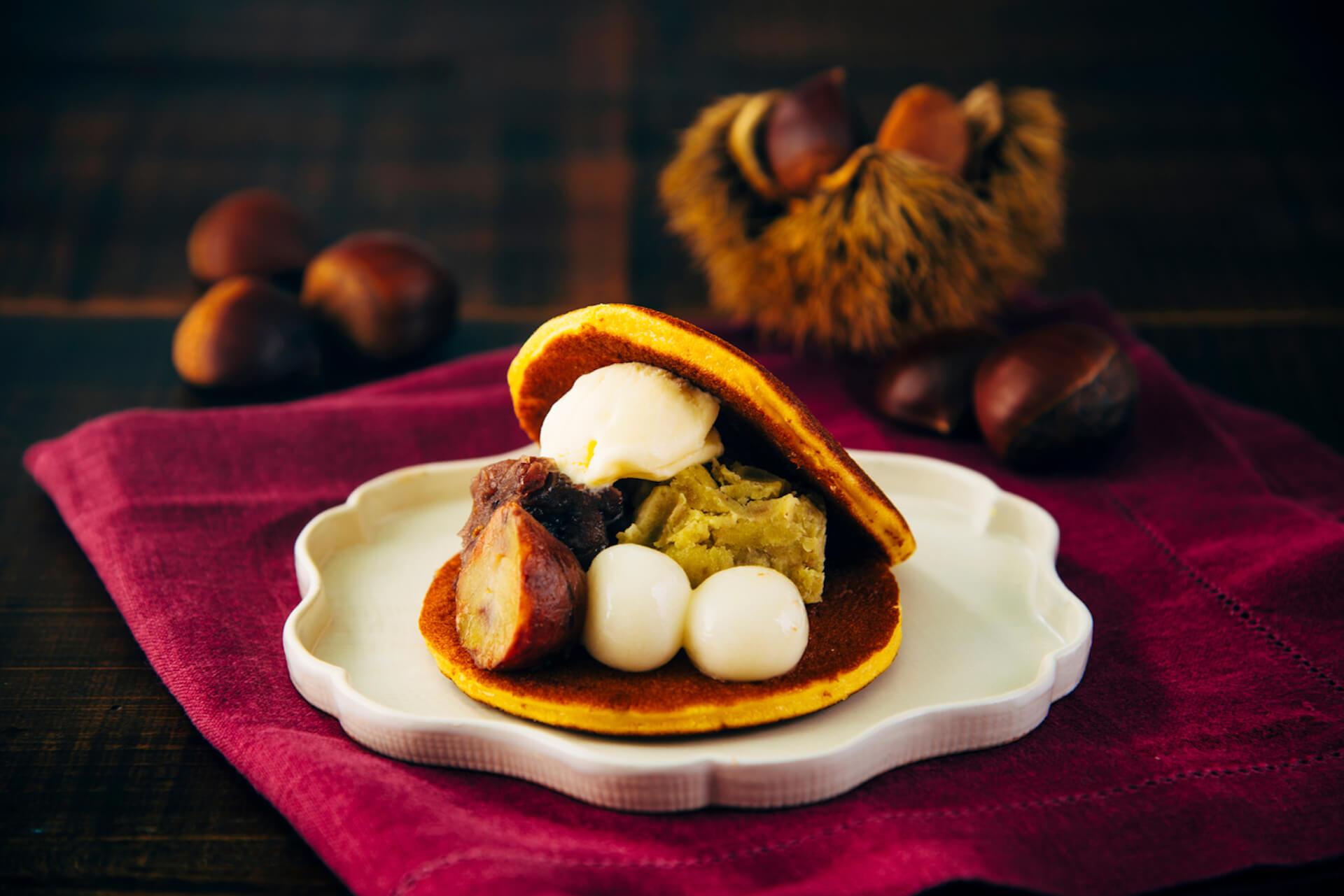 『AKOMEYA食堂』から和の食材を楽しめるシフォンケーキやどら焼きなど秋の新作スイーツ5種類が登場! food202087-akomeya4