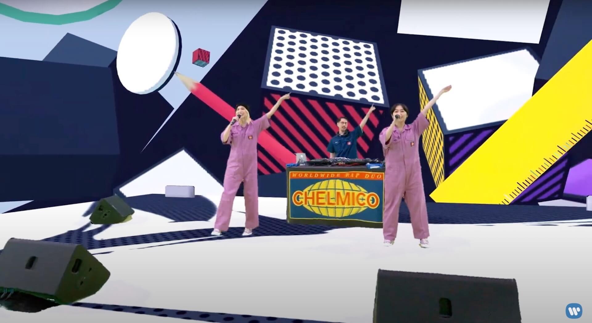 chelmicoがアルバムリリースを記念して<chelmicoが2次元と3次元を行き来する#ごちゃmazeハイパーバーチャルライブ>を開催!ライブレポートが到着 music2020827-chelmico4