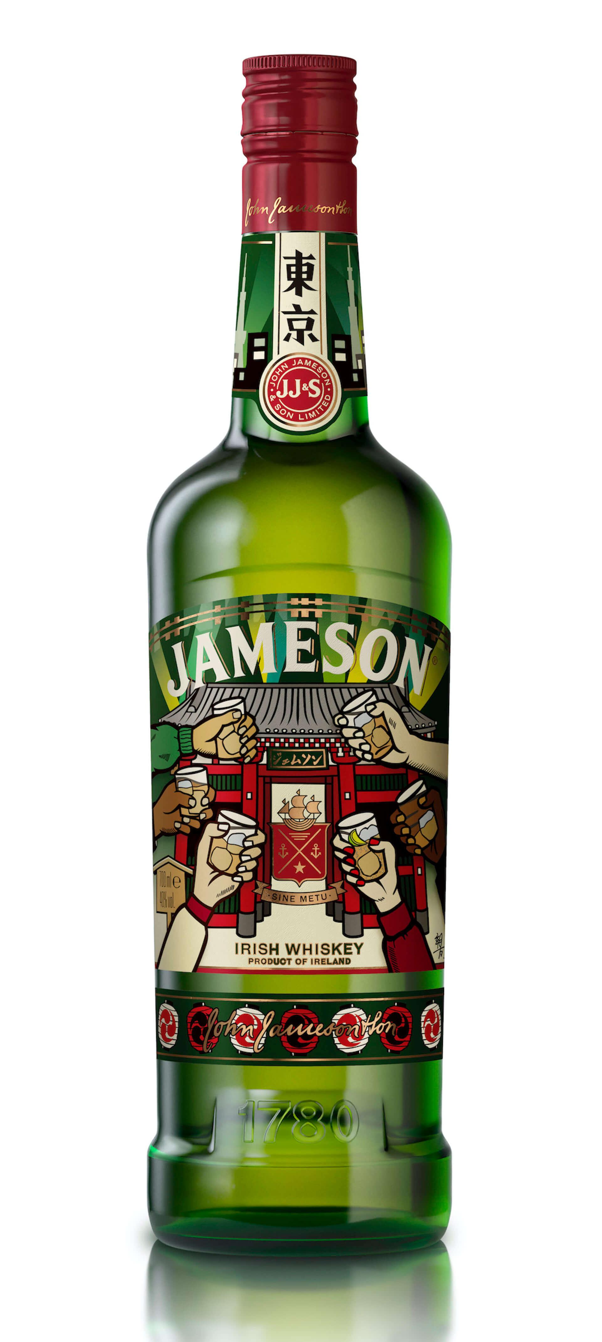 """『ジェムソン』が""""東京""""デザインの限定ボトルに!PUNK DRUNKERS・親方とコラボした『ジェムソン 東京 リミテッド』が発売決定 gourmet200828_jamesonwhiskey_4-1920x4274"""