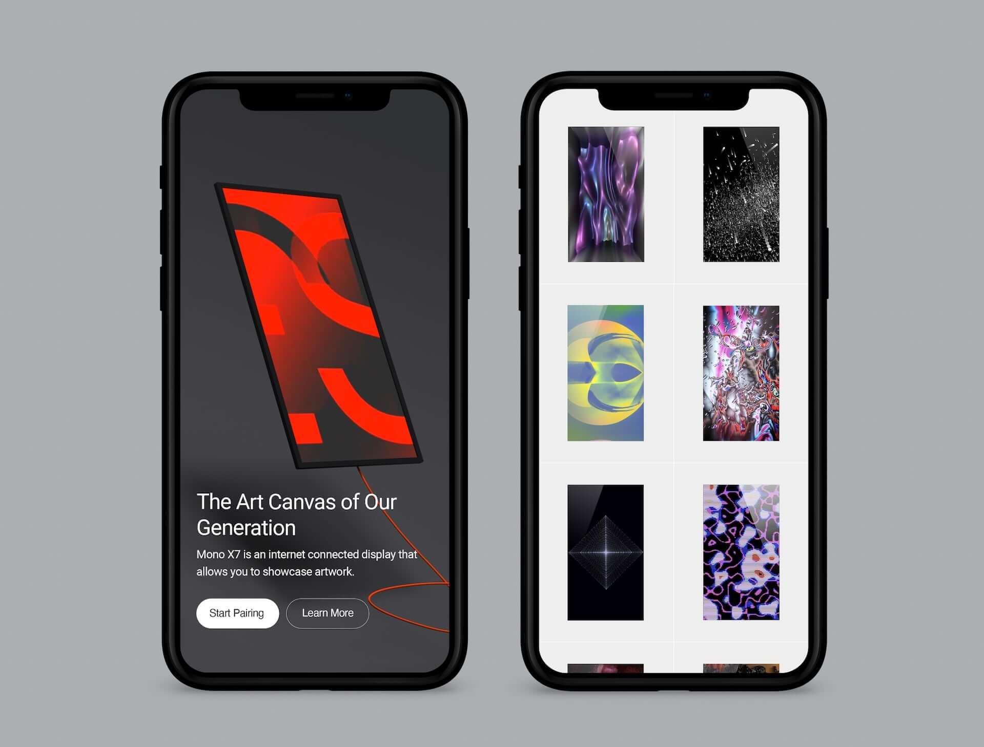 オンラインギャラリーの作品も投影できるデジタルアートフレーム『Mono X7』の予約販売が開始!YOSHIROTTENのコメントも tech200831_mono-x7_5-1920x1459