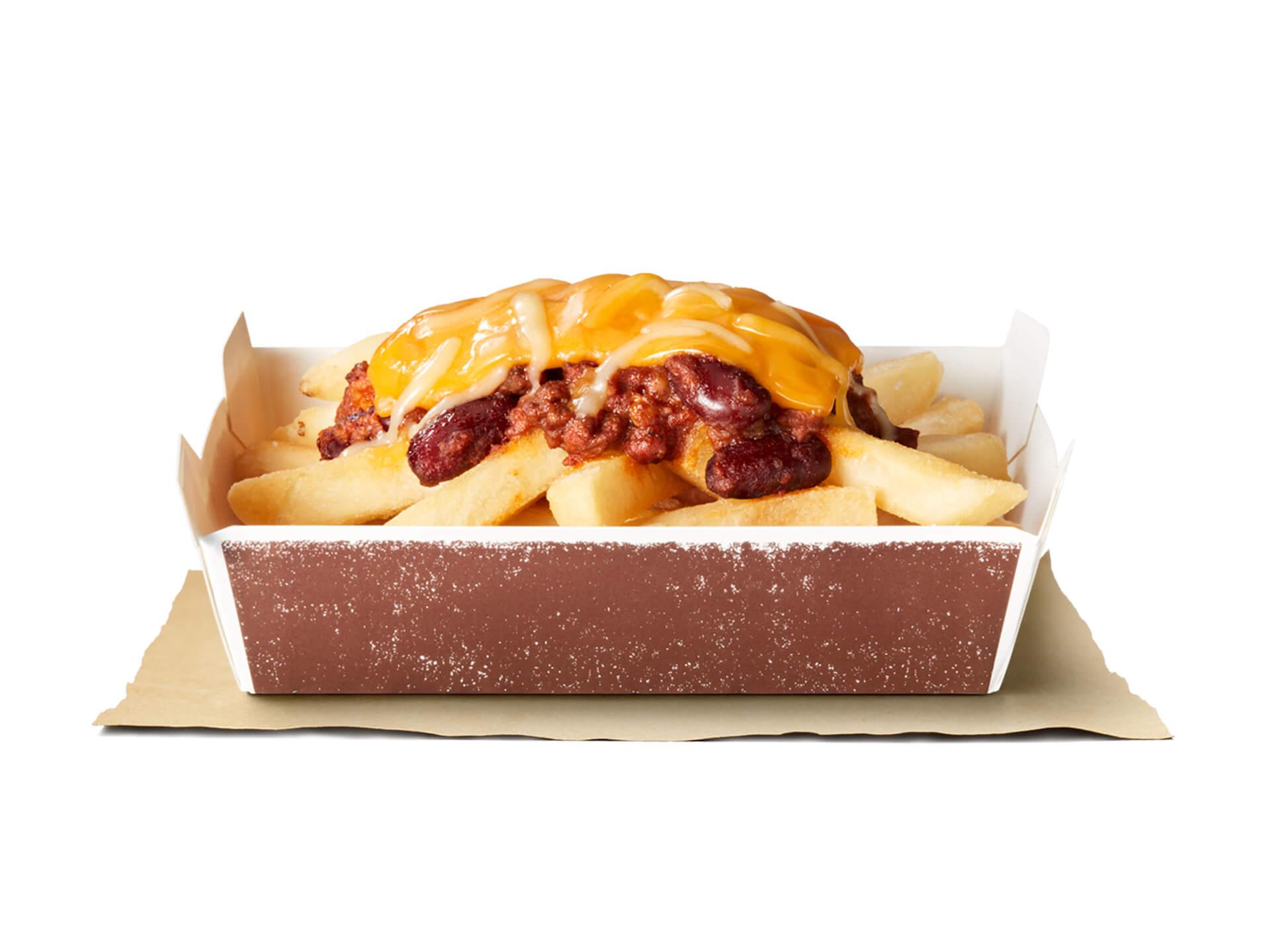 バーガーキングにチリビーンズソースとチーズのハーモニー抜群な『チリ・キングドッグ』が新登場!人気デザート『サンデー』が期間限定で120円に gourmet200904_burgerking_1