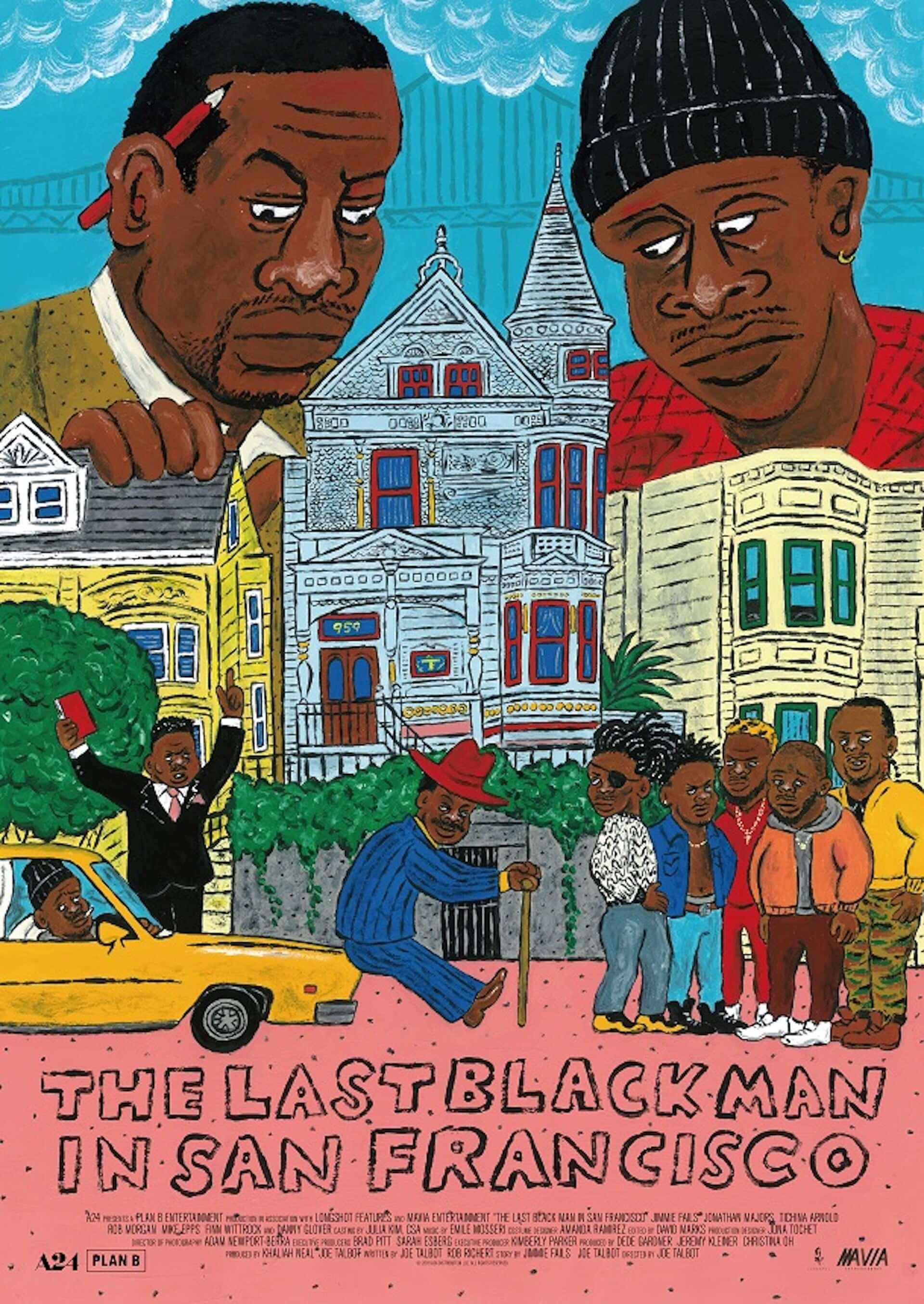 長場雄らが描き下ろし!A24×プランB最新作『ラストブラックマン・イン・サンフランシスコ』のアートポスターが解禁&プレゼント企画も開始 film200904_lastblackman_1-1920x2711