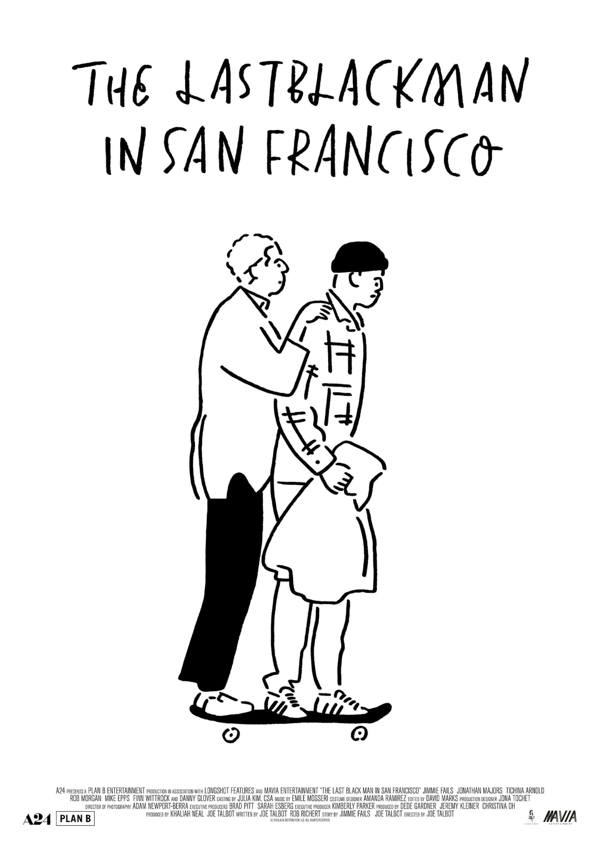 長場雄らが描き下ろし!A24×プランB最新作『ラストブラックマン・イン・サンフランシスコ』のアートポスターが解禁&プレゼント企画も開始 film200904_lastblackman_3-1920x2711