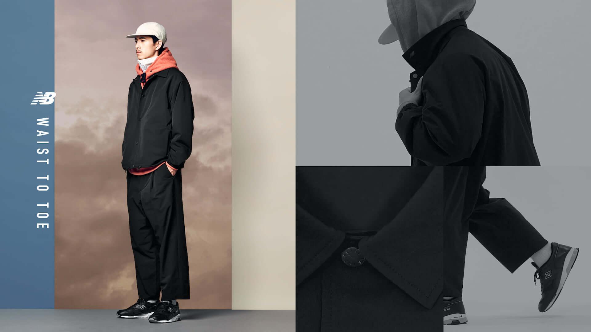 ニューバランスのパンツコレクション「WAIST TO TOE」にセットアップジャケット5型が登場!組み合わせは全25通り lf200910_newbalance_9-1920x1080