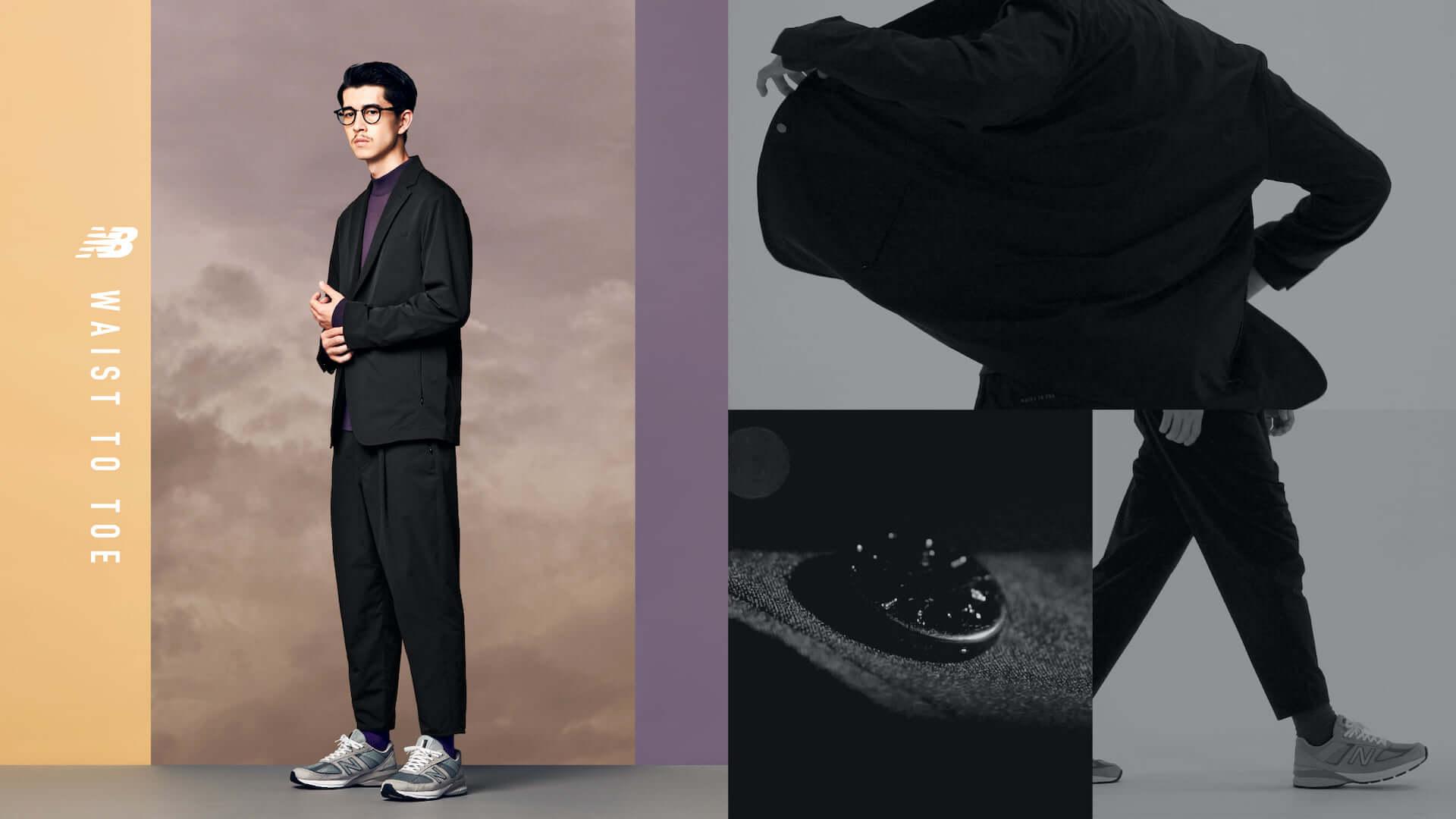 ニューバランスのパンツコレクション「WAIST TO TOE」にセットアップジャケット5型が登場!組み合わせは全25通り lf200910_newbalance_10-1920x1080