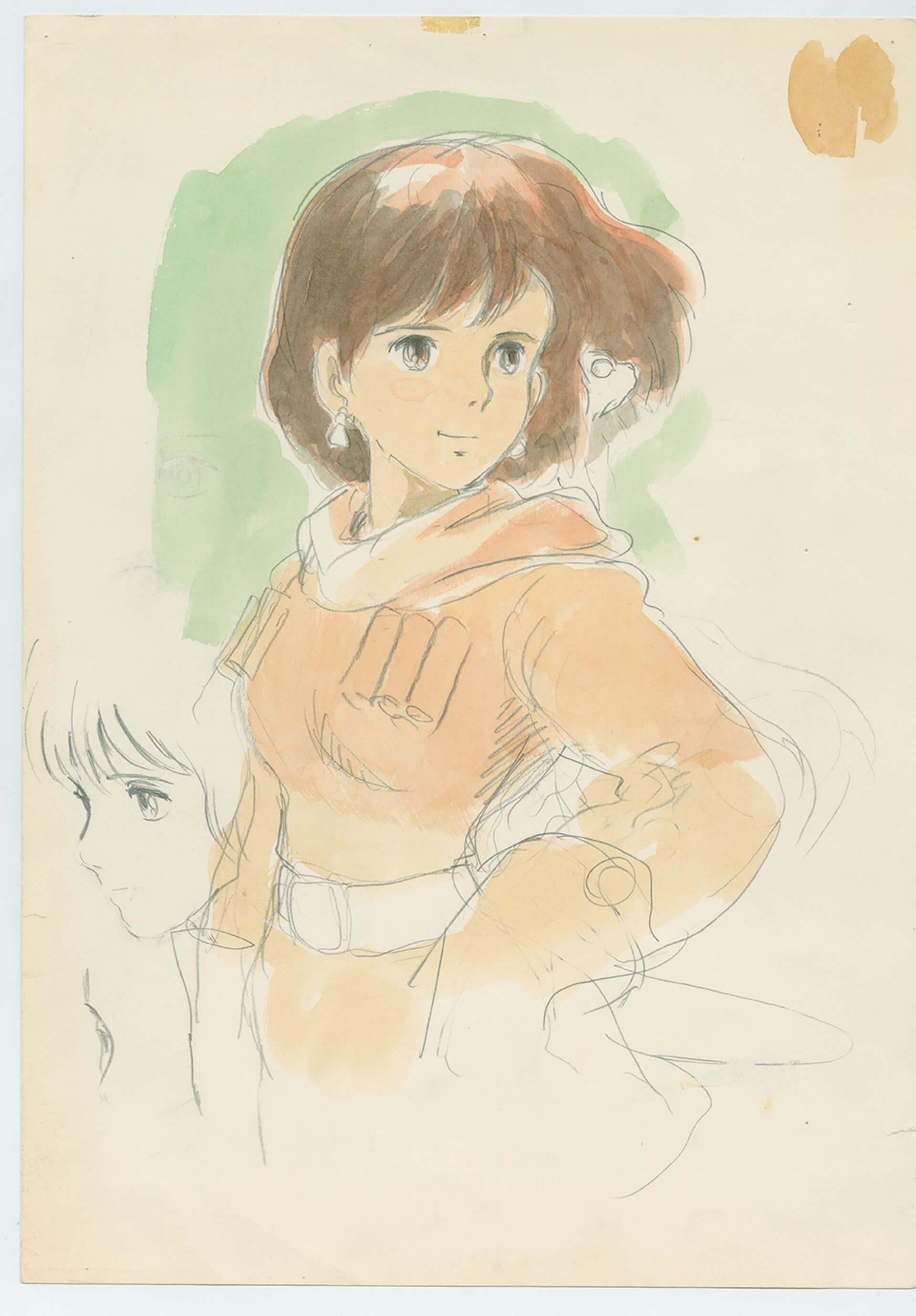スタジオジブリとアカデミー映画博物館がコラボ!宮崎駿のキャリアを辿る<宮崎駿展>が開催決定&鈴木敏夫のコメントも到着 art200911_hayao-miyazaki_1-1920x2758