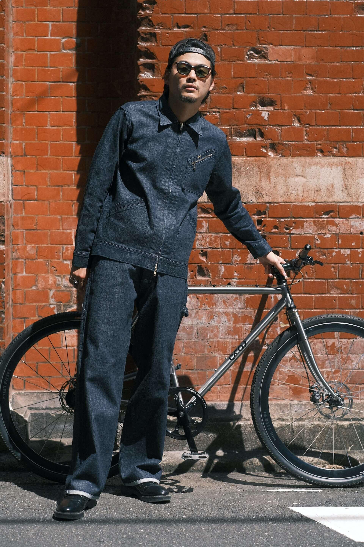Leeとnarifuriのコラボコレクションが初登場!自転車をより楽しめるデニムパンツ、ワークジャケットなどが発売決定 lf200915_lee-narifuri_1-1920x2880