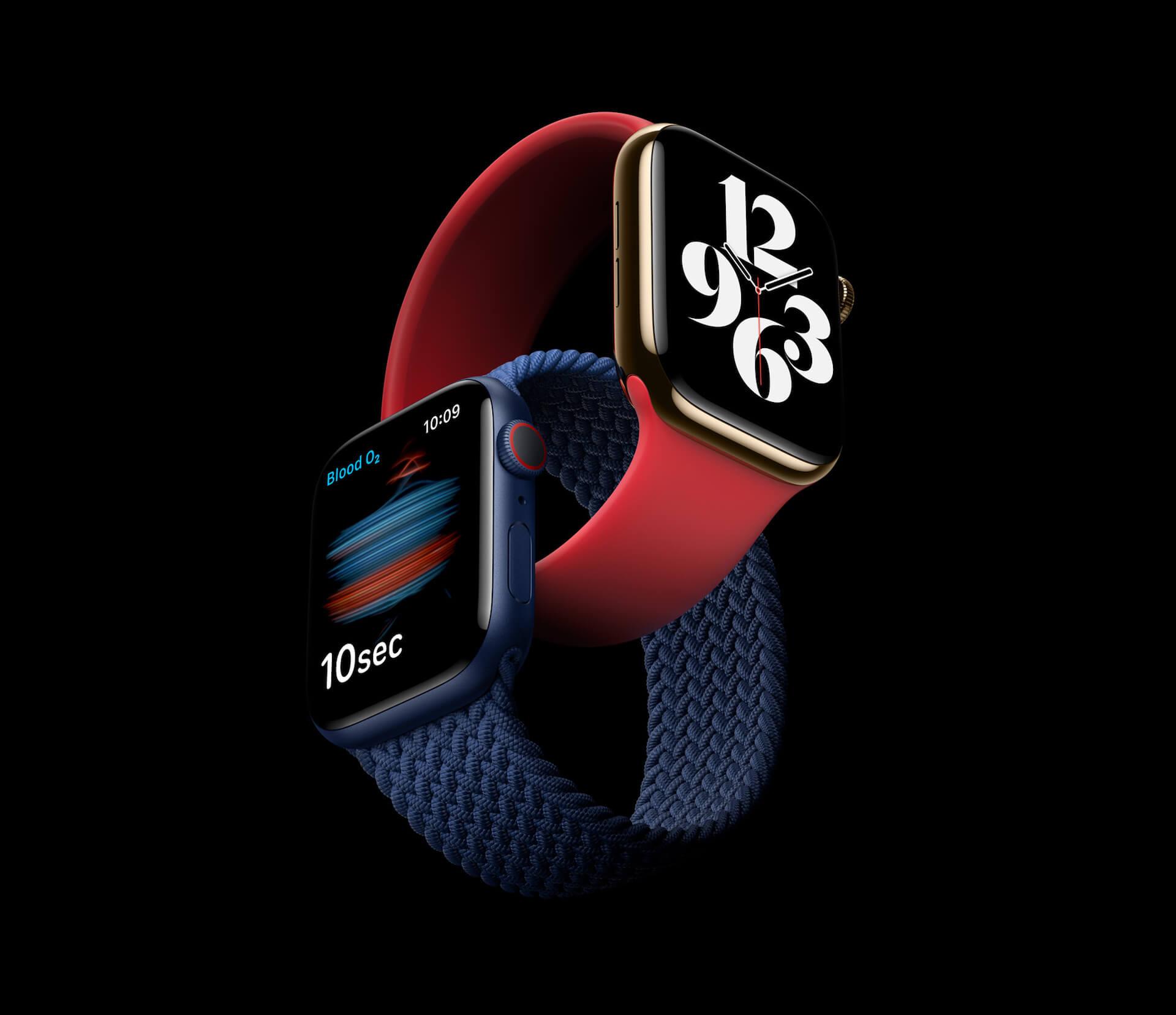 Apple Watch Series 6&Apple Watch SEがついに発表!ソロループや血中酸素濃度センサーなど新要素が追加 tech200916_applewatch_main