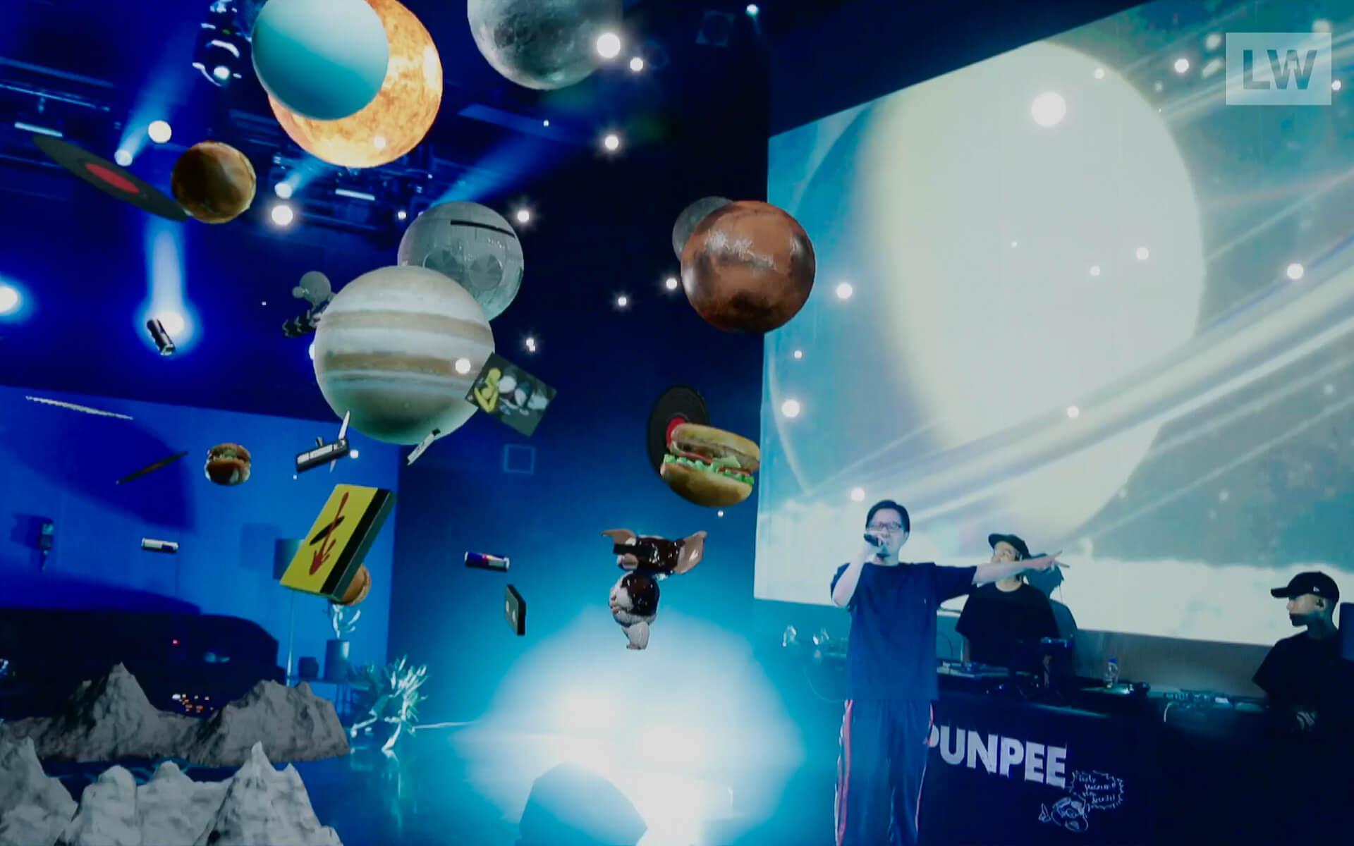 LIVEWIRE PUNPEE<Sofa Kingdomcome>のイースターエッグを一挙紹介! by みやーんZZ music200918_punpee_livewire_7