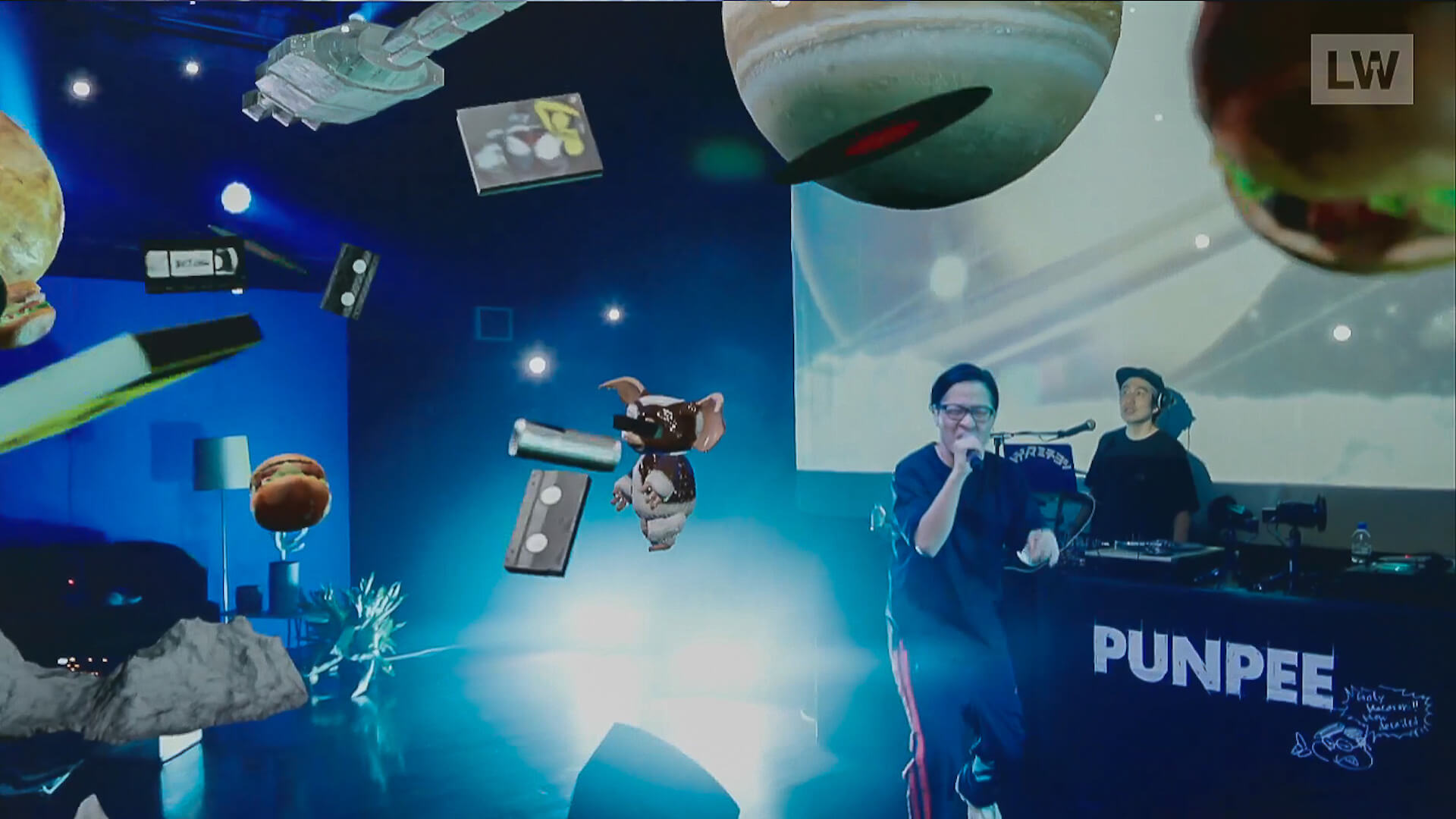 LIVEWIRE PUNPEE<Sofa Kingdomcome>のイースターエッグを一挙紹介! by みやーんZZ music200918_punpee_livewire_8