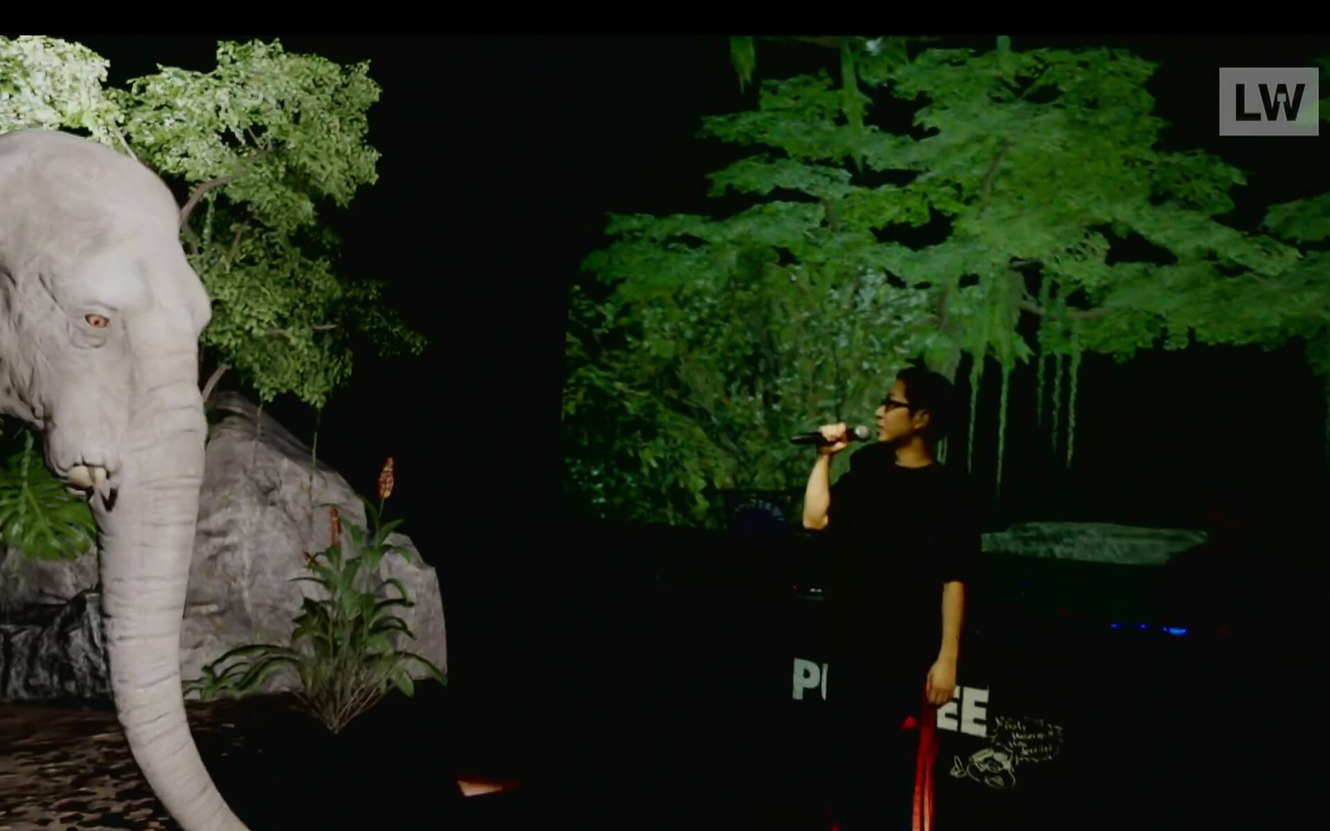 LIVEWIRE PUNPEE<Sofa Kingdomcome>のイースターエッグを一挙紹介! by みやーんZZ music200918_punpee_livewire_11