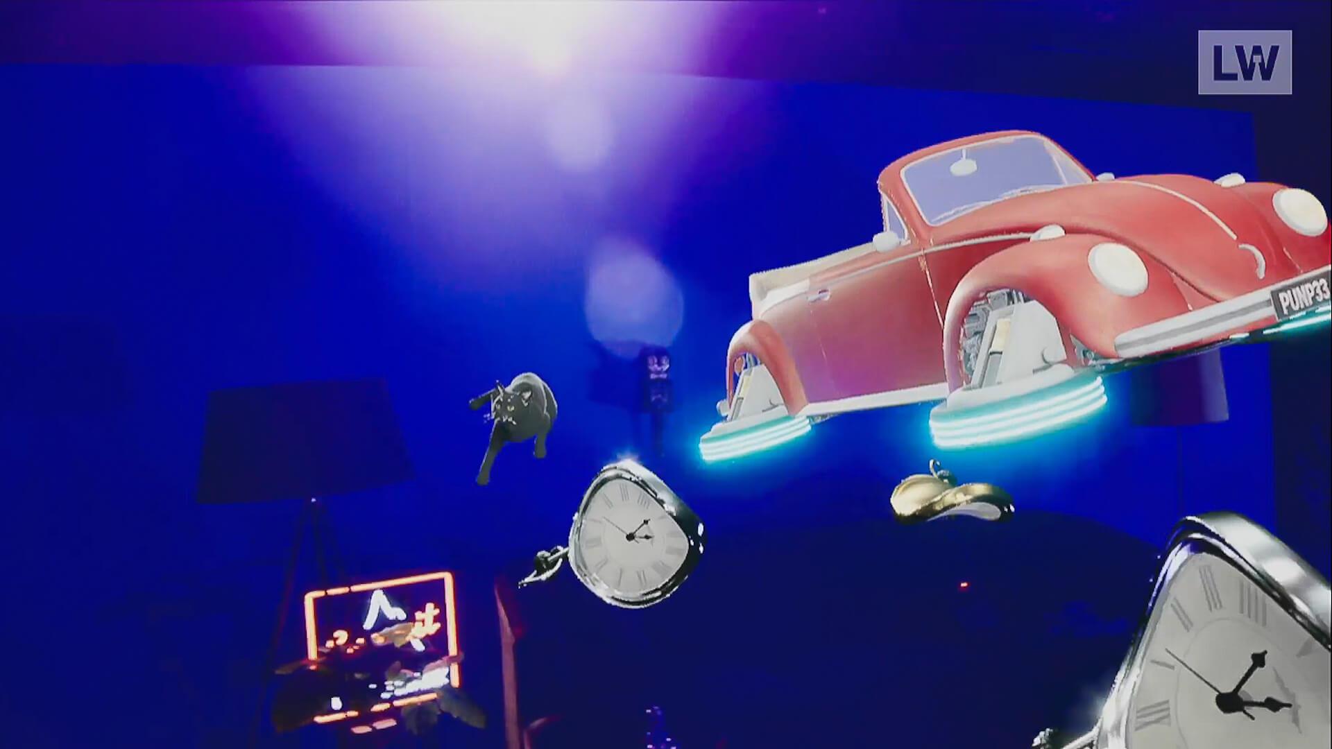 LIVEWIRE PUNPEE<Sofa Kingdomcome>のイースターエッグを一挙紹介! by みやーんZZ music200918_punpee_livewire_12
