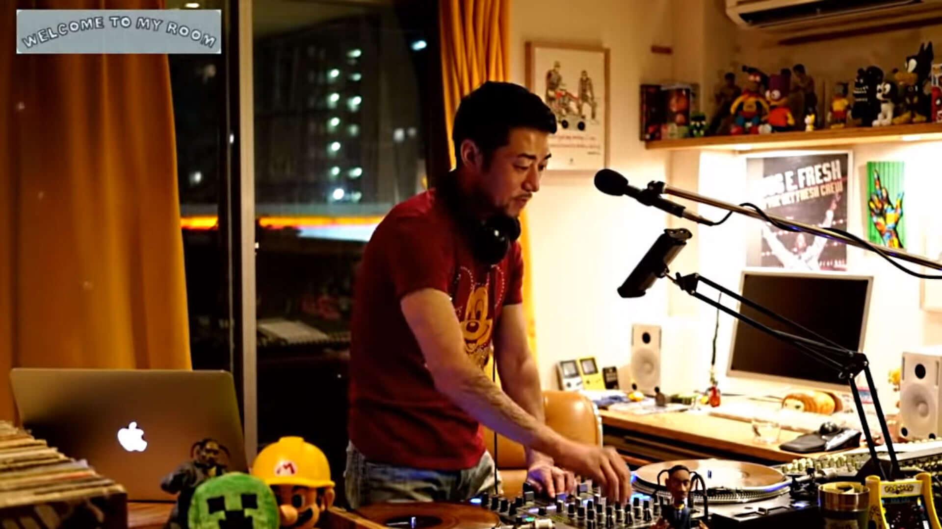 "DJ HASEBEの活動30周年記念アルバムから""Welcome to my room""のMVが解禁!Ryohu、土岐麻子も出演 music200923_dj_hasebe_4-1920x1080"
