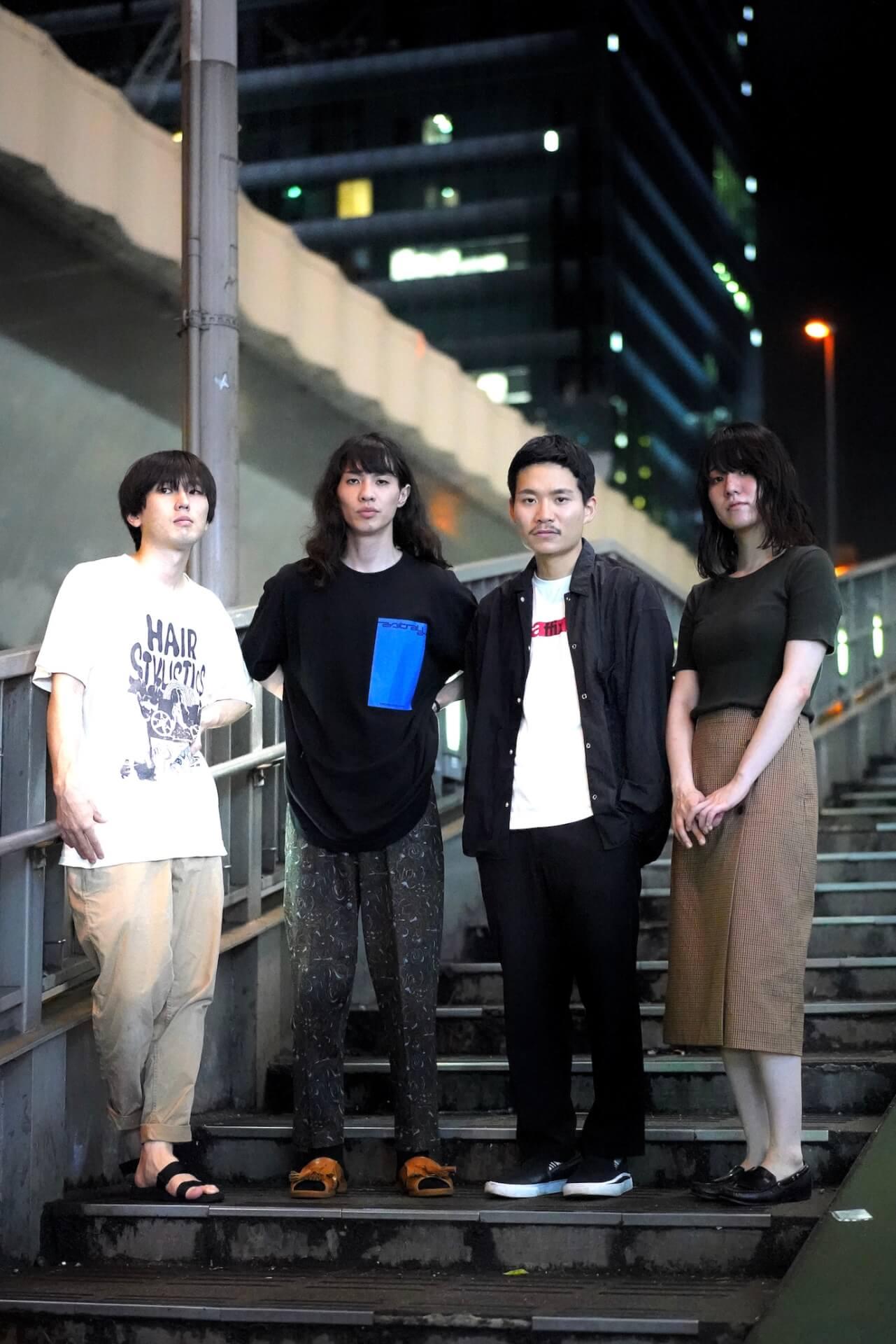 インタビュー|自分の感情から社会へ、Group2が新作『Group2Ⅱ』で表現した新たな情景 interview0924_group2_03
