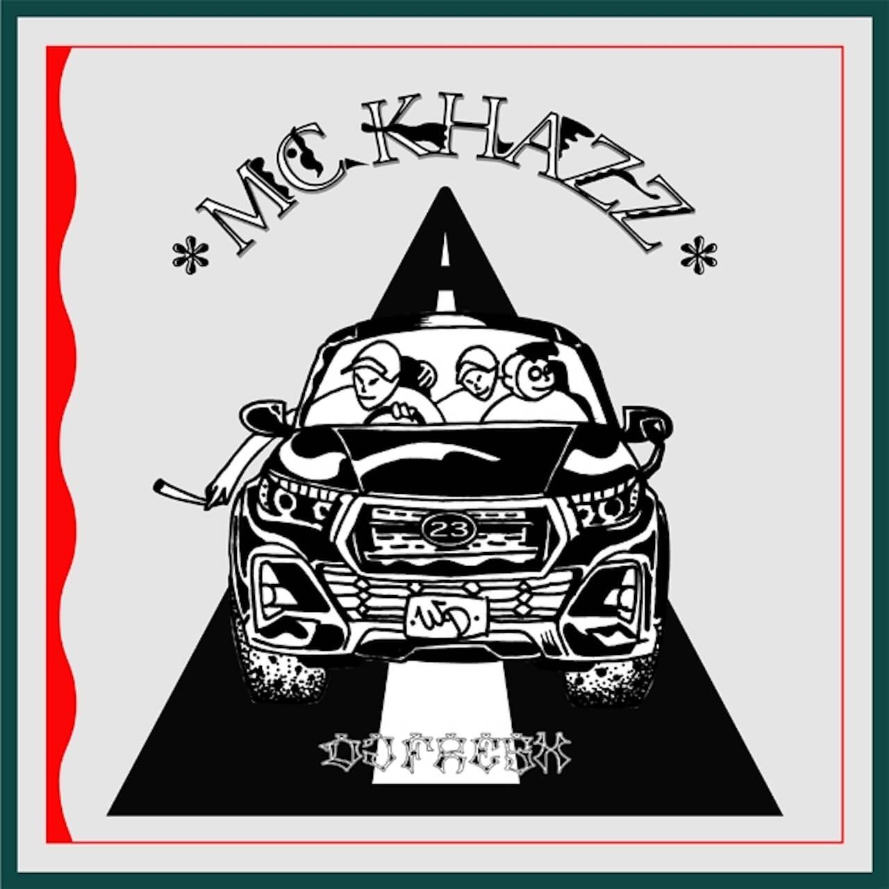 〈WDsounds〉の新プロジェクトから、MC KHAZZによるシングル「23Breeze/R1」がリリース music200925-mckhazz-1