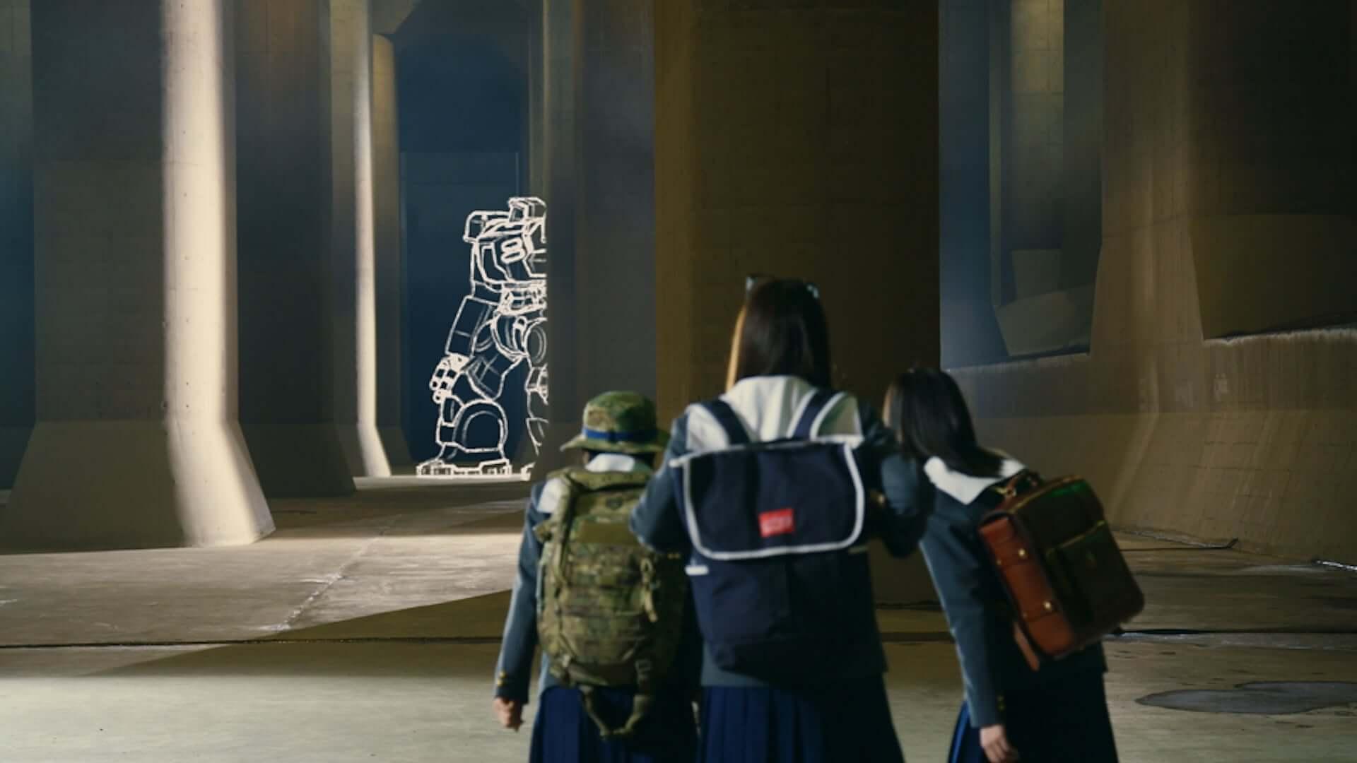 乃木坂46・齋藤飛鳥、山下美月、梅澤美波出演映画『映像研には手を出すな!』VFXシーンの裏側が明らかに!メイキング映像が解禁 film200929_eizouken_5-1920x1080