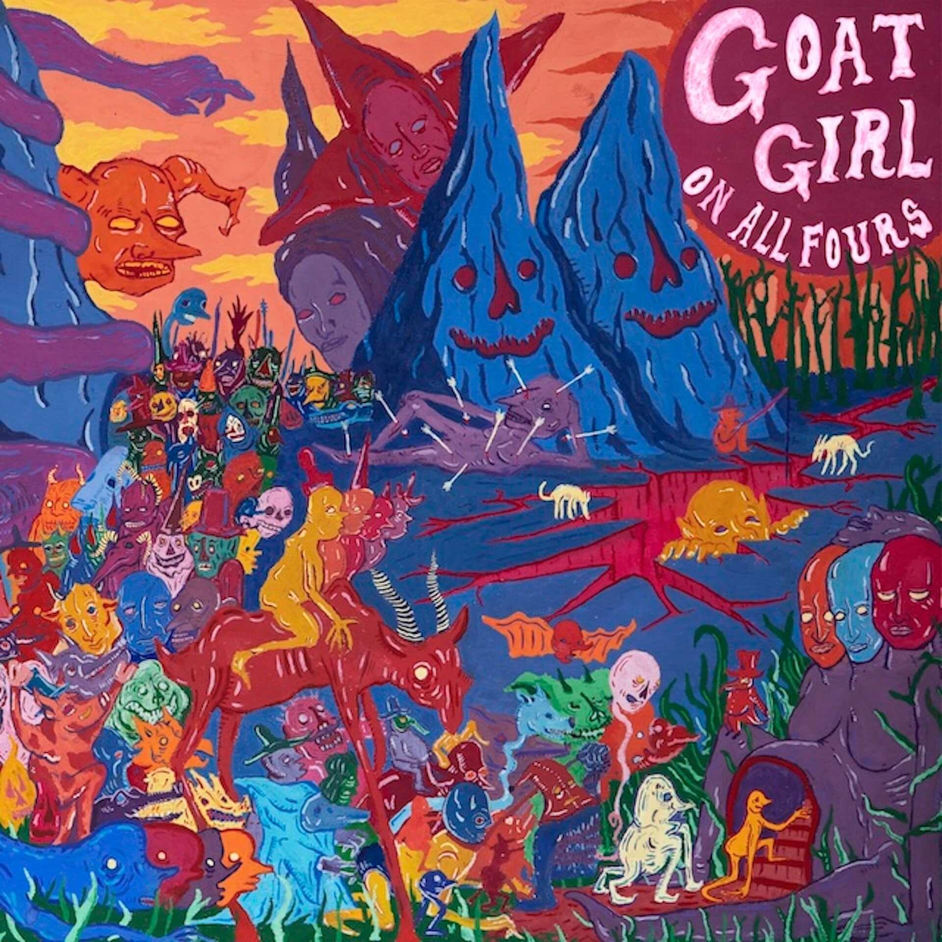 "Goat Girlの最新アルバム『On All Fours』がCD&アナログ盤で発売決定!新曲""Sad Cowboy""のMVも公開 music200929_goatgirl_3-1920x1920"