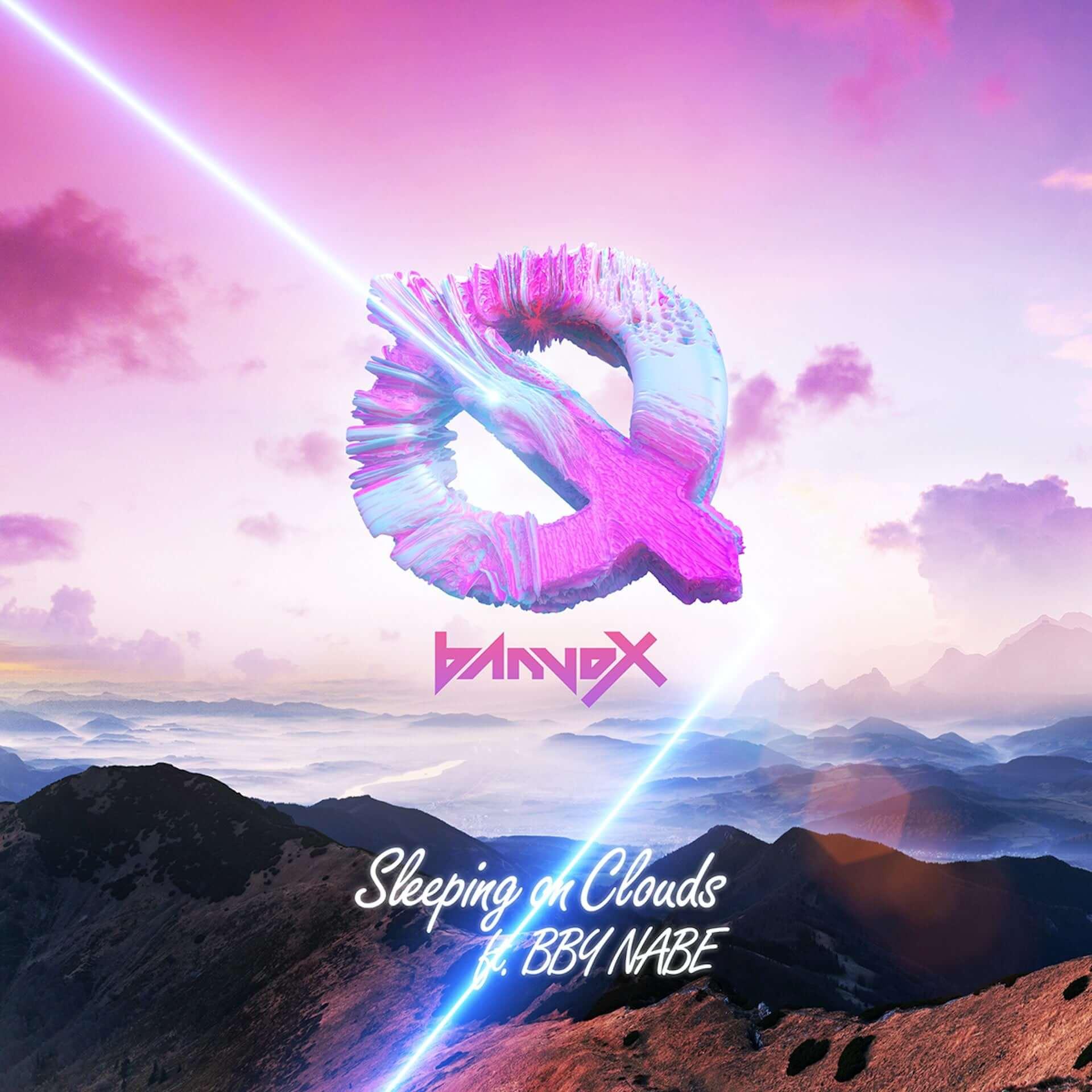 """banvoxがBBY NABEを迎えた新曲""""Sleeping on Cloud""""をリリース!Naohiro Yakoがアートワークを担当 music200930_banvox_1-1-1920x1920"""