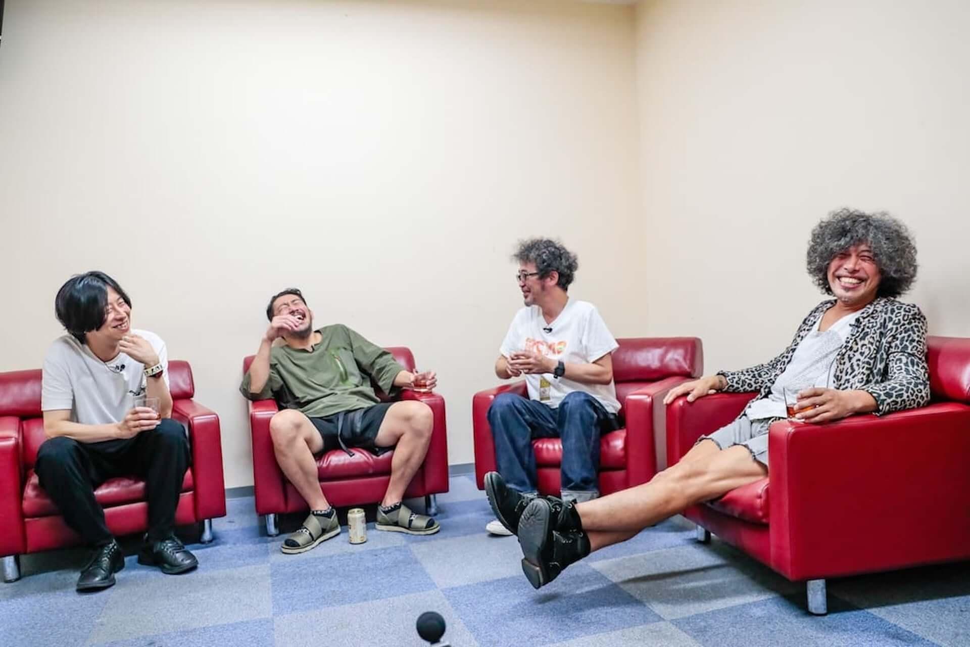 奥田民生、佐藤タイジ、ホリエアツシ、TOSHI-LOWによる座談会が『Festival Junkie Podcast』にて配信中!<THE SOLAR BUDOKAN 2020>特別企画 music200930_festival-junkie_4-1920x1280