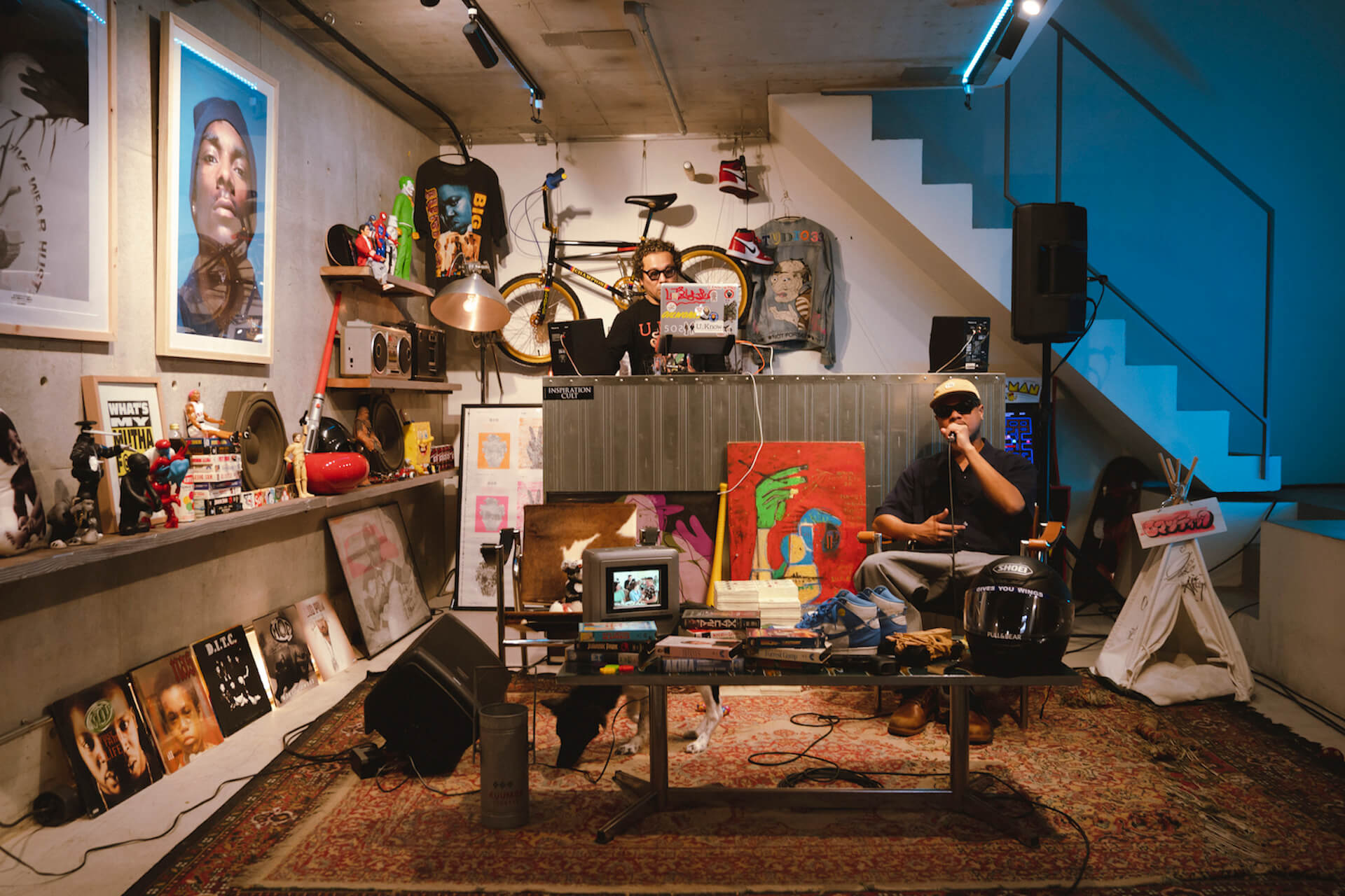 音楽ライブ番組『DOG HOUSE STUDIO』にて、Olive OilとMiles Wordからなるユニット・U_Knowのスペシャルライブ動画が公開! music20112_doghousestudio_4