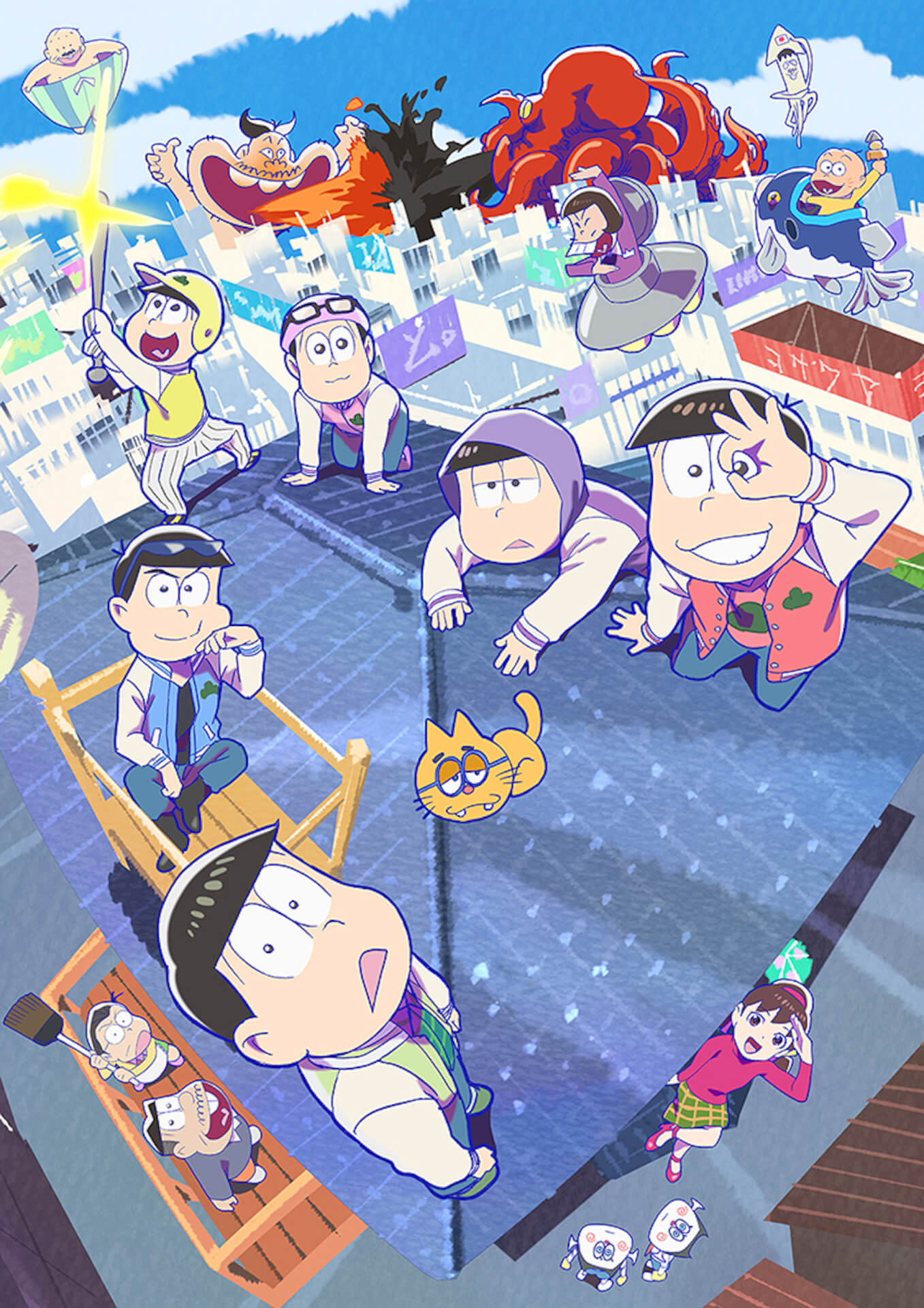 待望のTVアニメ『おそ松さん』第3期放送開始日が決定!新たな展開を期待させるメインビジュアル&OPテーマも解禁 anime2020907-osoatsusan1