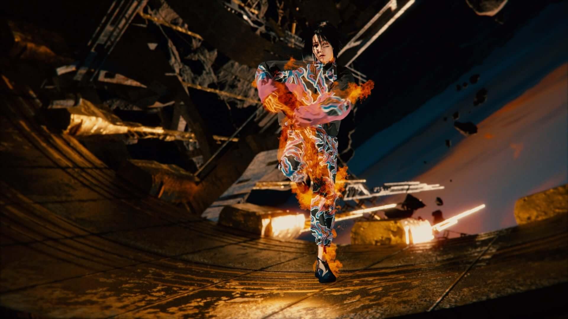 中国のスポーツブランド・LI-NINGがバーチャルショーのランウェイ映像を公開!メディアアーティストのルー・ヤンも参加 lf201007_li-ning_48-1920x1080