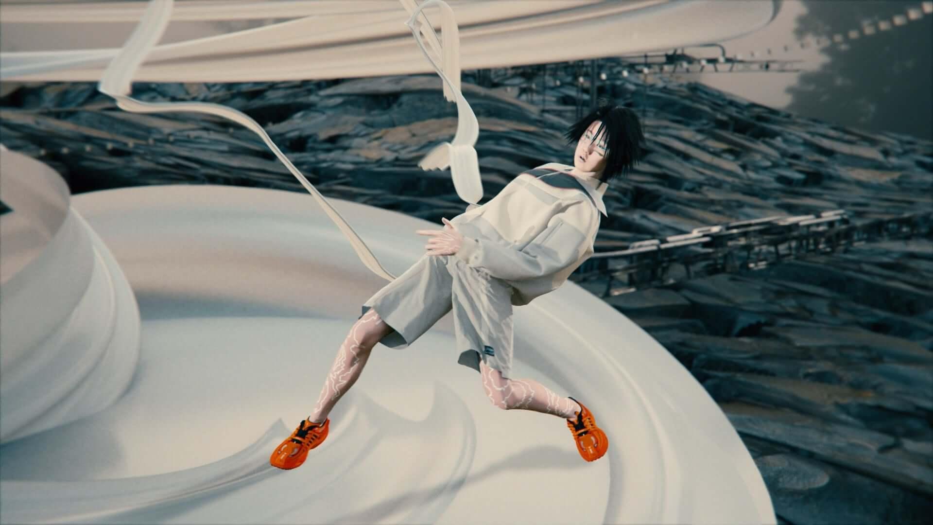 中国のスポーツブランド・LI-NINGがバーチャルショーのランウェイ映像を公開!メディアアーティストのルー・ヤンも参加 lf201007_li-ning_49-1920x1080