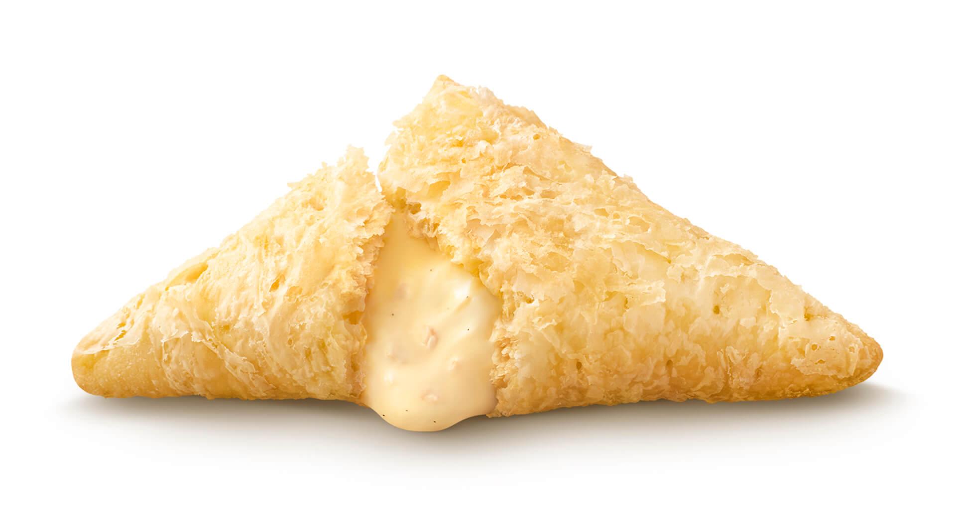 マクドナルドの秋冬の定番「三角チョコパイ」が期間限定で登場!今年は「三角チョコパイ 黒」と「三角チョコパイ 白」の2種類 gourmet201007_mcdonald_4