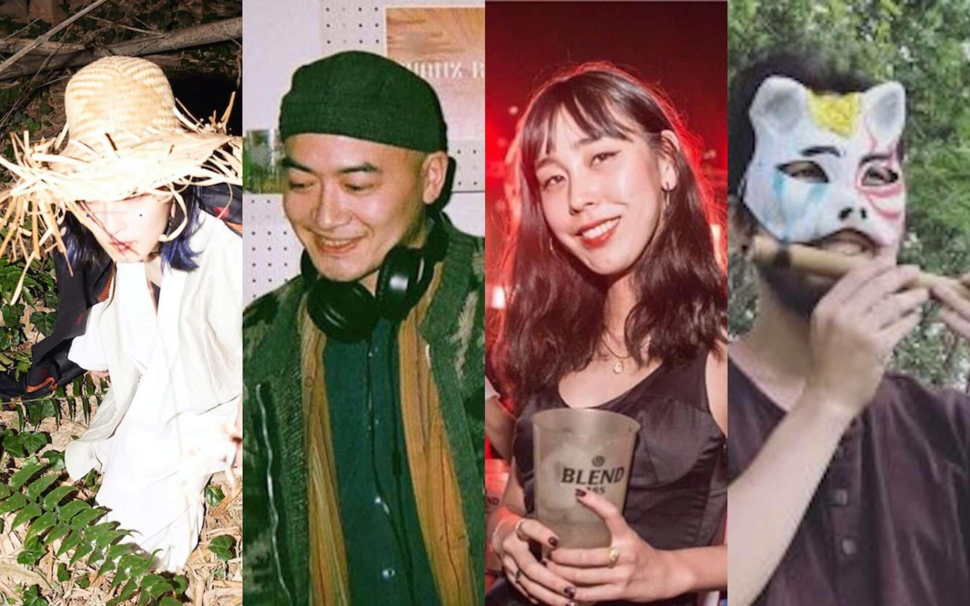 渋谷Contactで世界各地の音楽を堪能しよう!民謡クルセイダーズ・meg、suimin、Kenjinhoら出演のデイイベント<HO-HAI>が開催決定 music201008_ho-hai_2-1920x1200