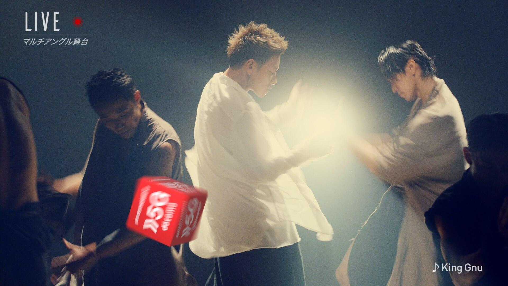 """佐藤健がパフォーマンスを披露するdocomo5Gの新CMにKing Gnuの書き下ろし曲""""千両役者""""が抜擢! art201009_kinggnu_docomo_3"""