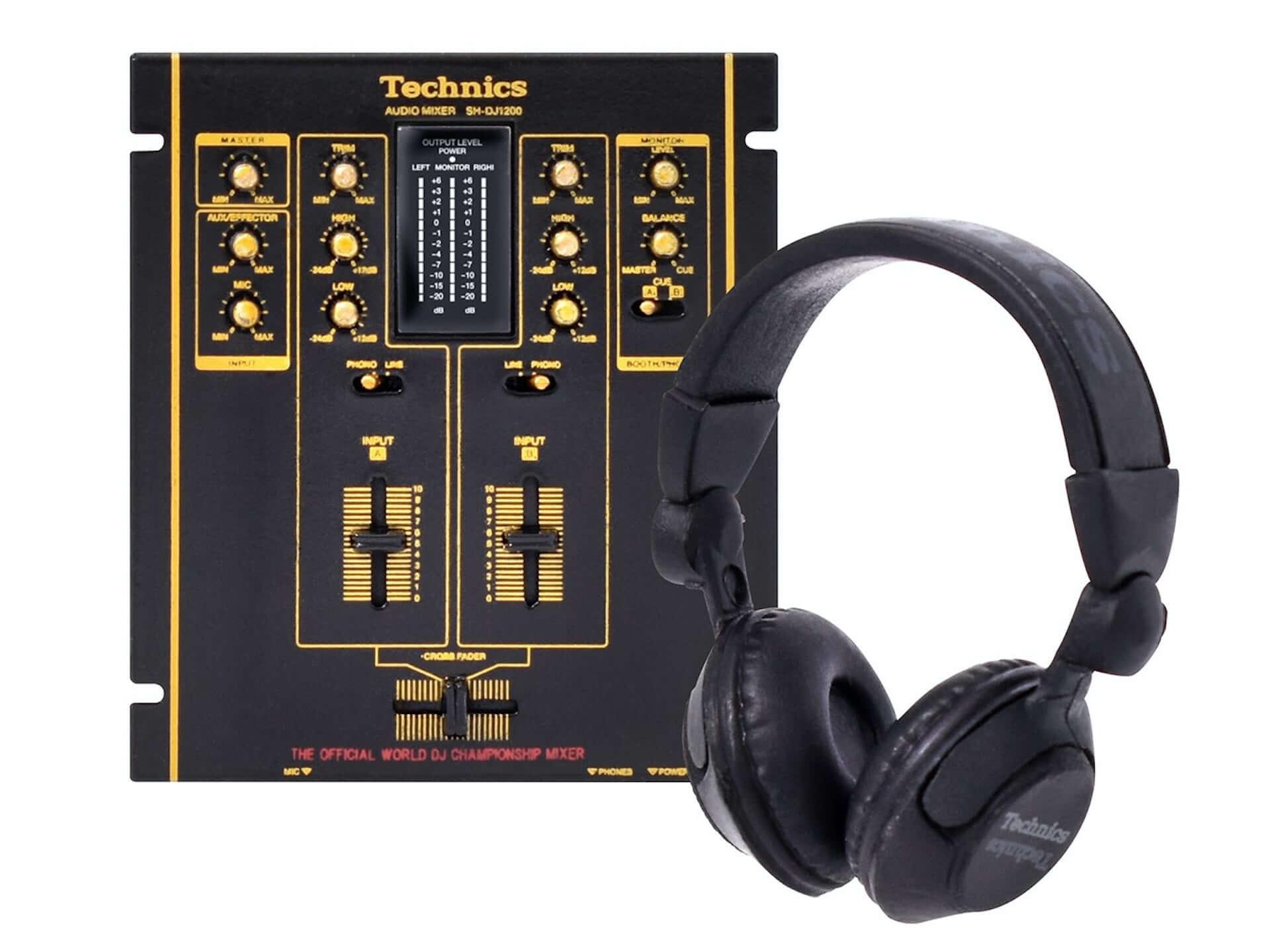 TechnicsのDJ機器『SL-1200MK2』など全5種がミニチュアフィギュア化!ケンエレファントより発売決定 tech201009_technics_5-1920x1440