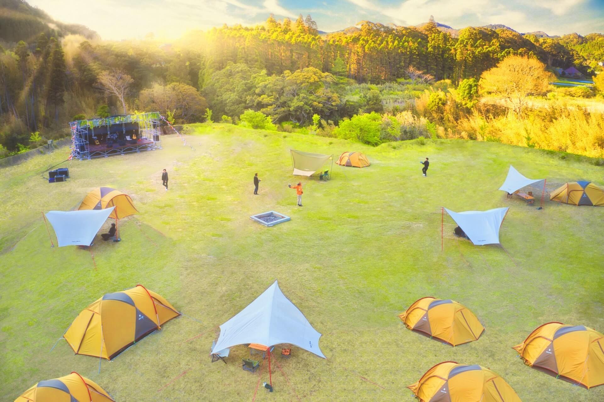 キャンプ、音楽、ヨガを楽しめるフェス<SOUL RETREAT CAMP>が開催決定!DJ HASEBE、MACKA-CHINが登場 ac200909_soulretreatcamp_02