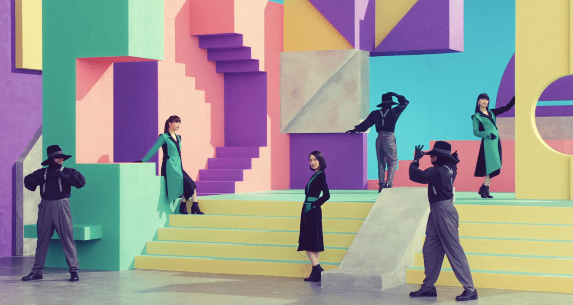 """Perfumeがニューシングル""""Time Warp""""のショートMVを本日解禁!80年代テイストの世界観に music2020910-perfume4"""