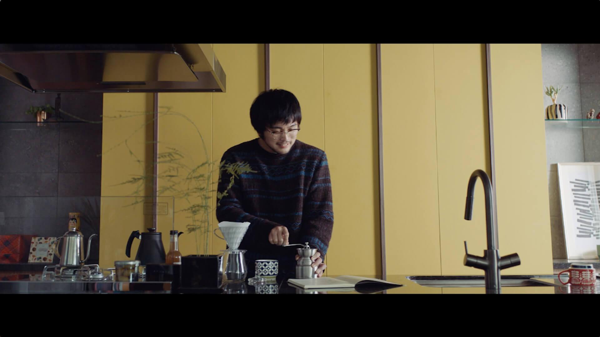 King Gnuボーカルの井口理が初主演!野村不動産「プラウド」ブランドムービーに『僕は、父が苦手だった。』出演 art201015_kinggnu_iguchi_2