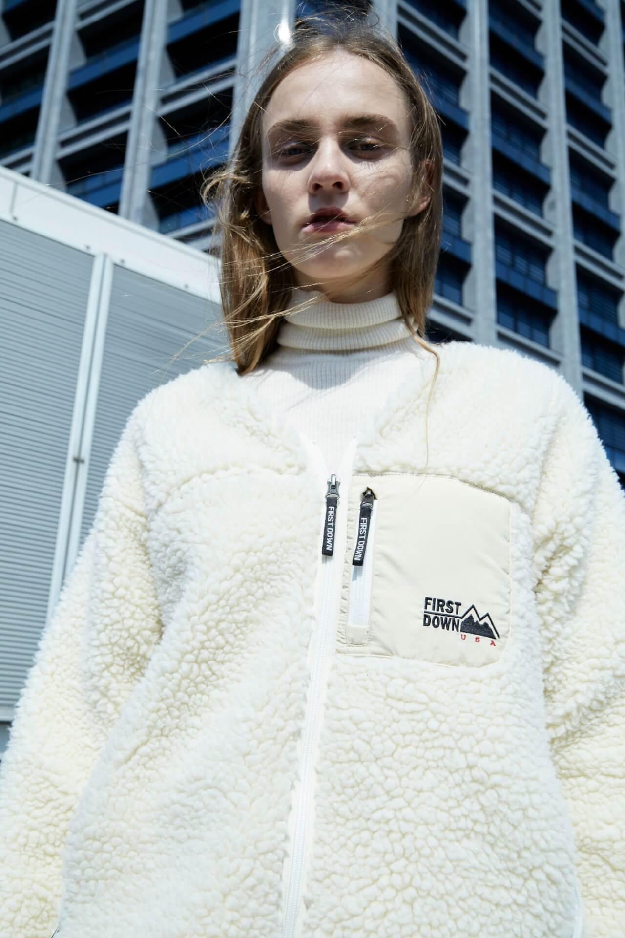 FIRST DOWNの別注アウターがセレクトショップ・styling/から発売決定!フードコート、ボアブルゾン、リバーシブルダウンの3型 fashion2020915-firstdown1